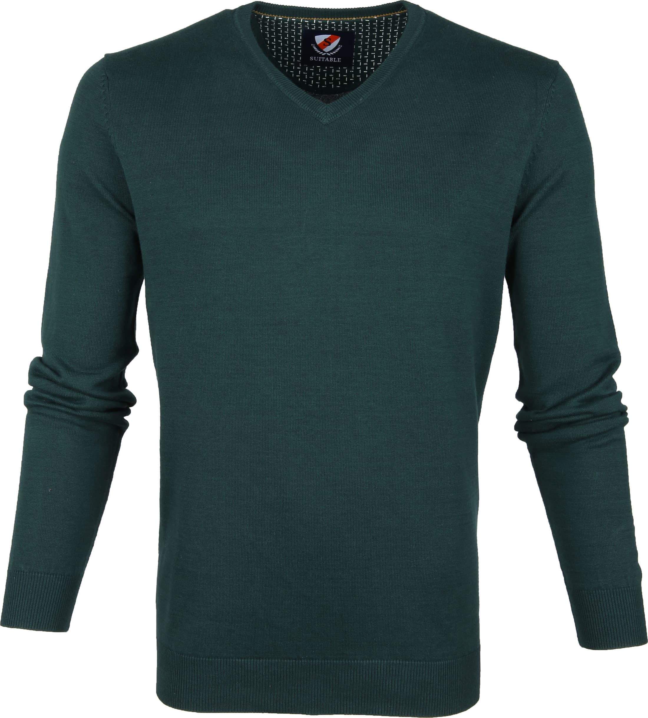 Suitable Vini Pullover Dark Green foto 0