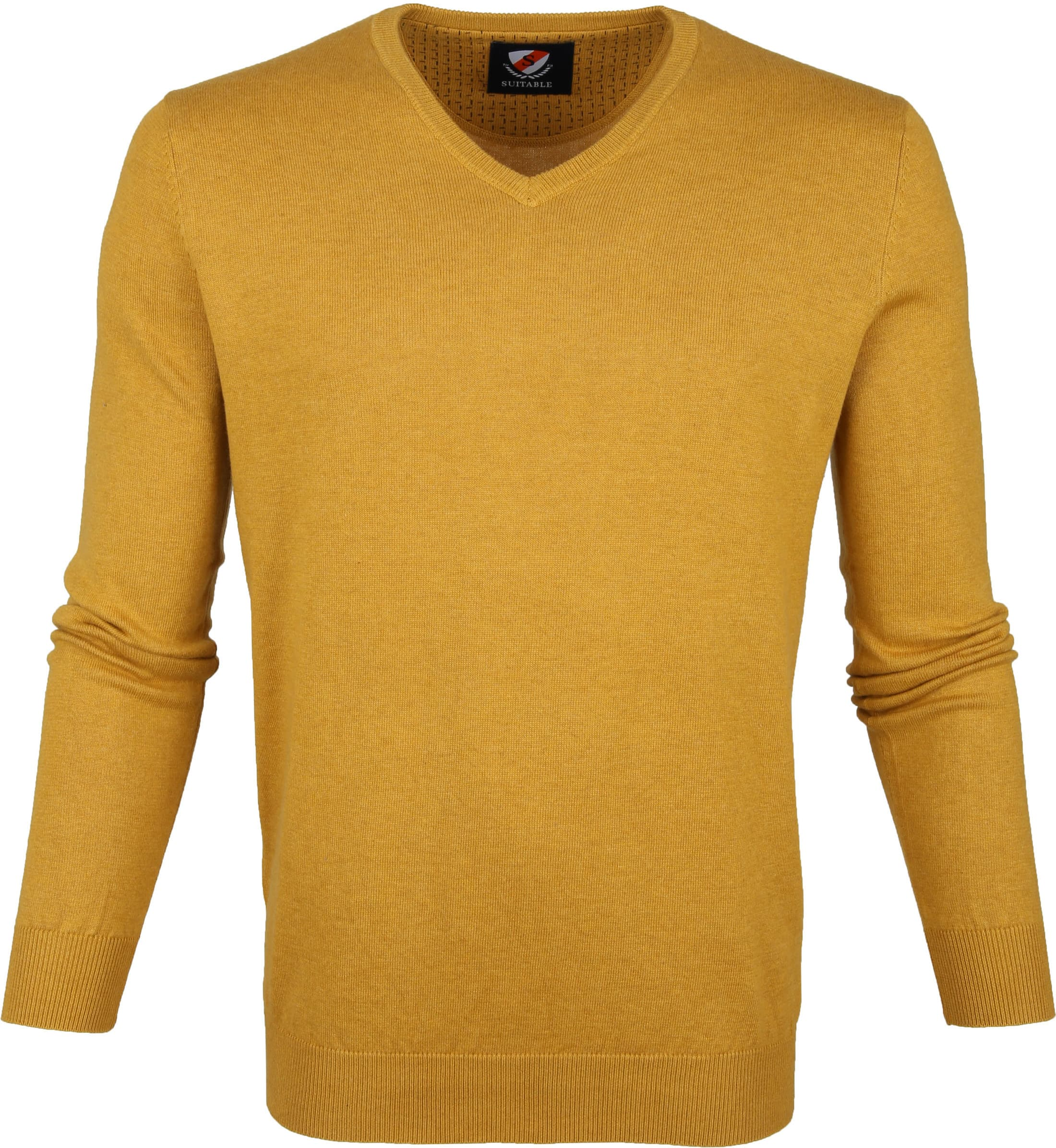 Suitable Vini Pullover Ocher Yellow foto 0