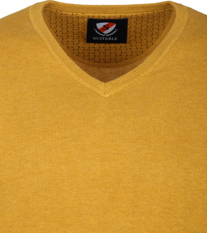 Suitable Vini Pullover Ocher Yellow foto 1