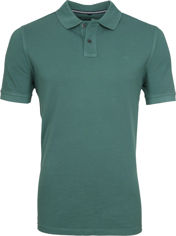 Suitable Vintage Poloshirt Groen foto 0