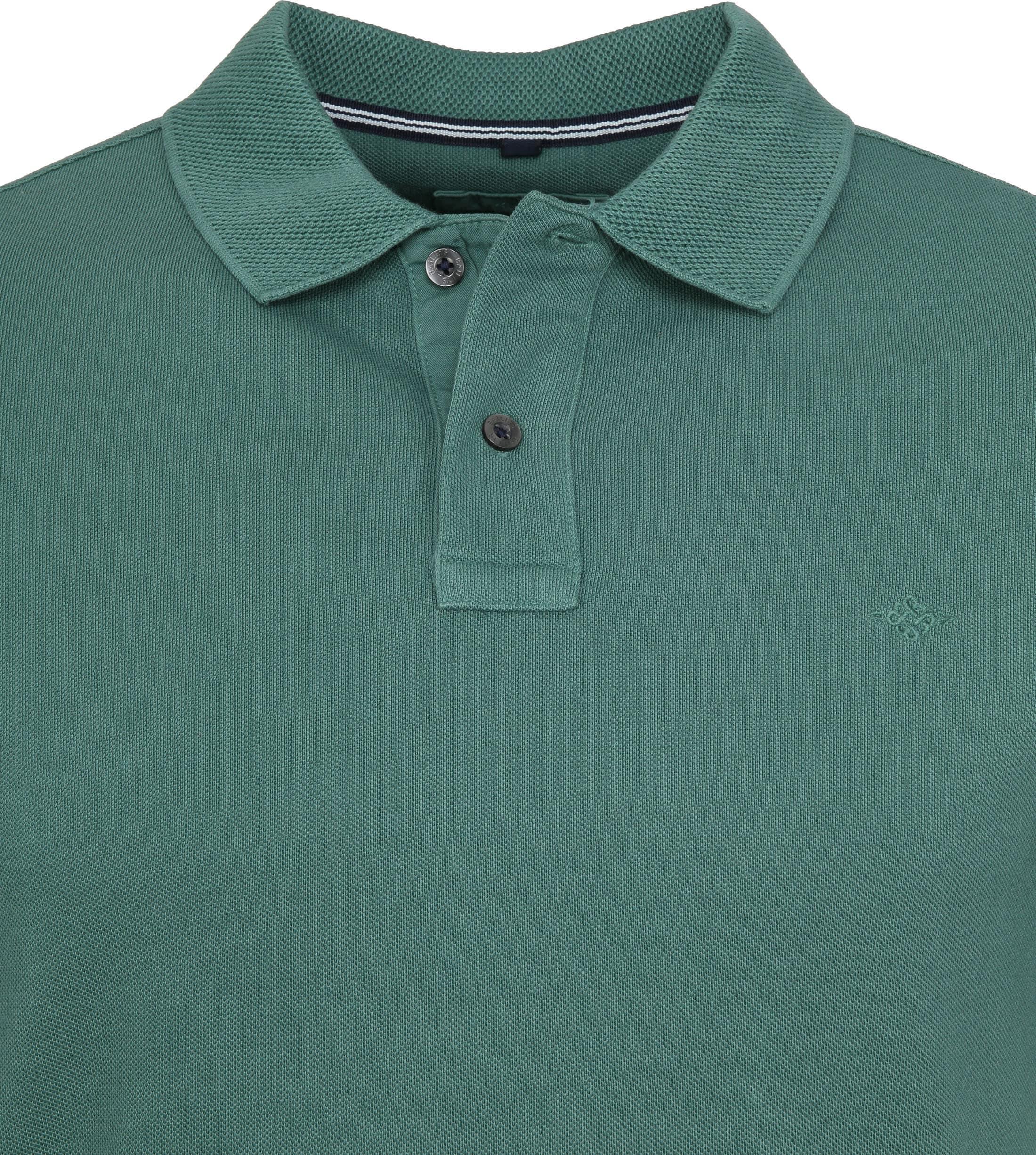 Suitable Vintage Poloshirt Groen foto 1
