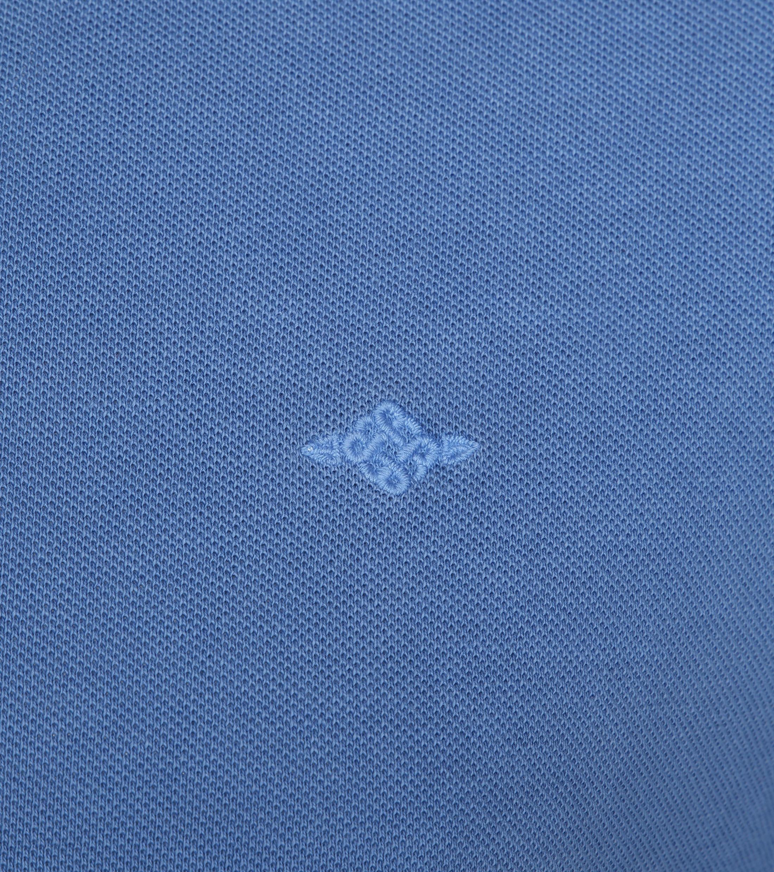 Suitable Vintage Poloshirt Indigo foto 2