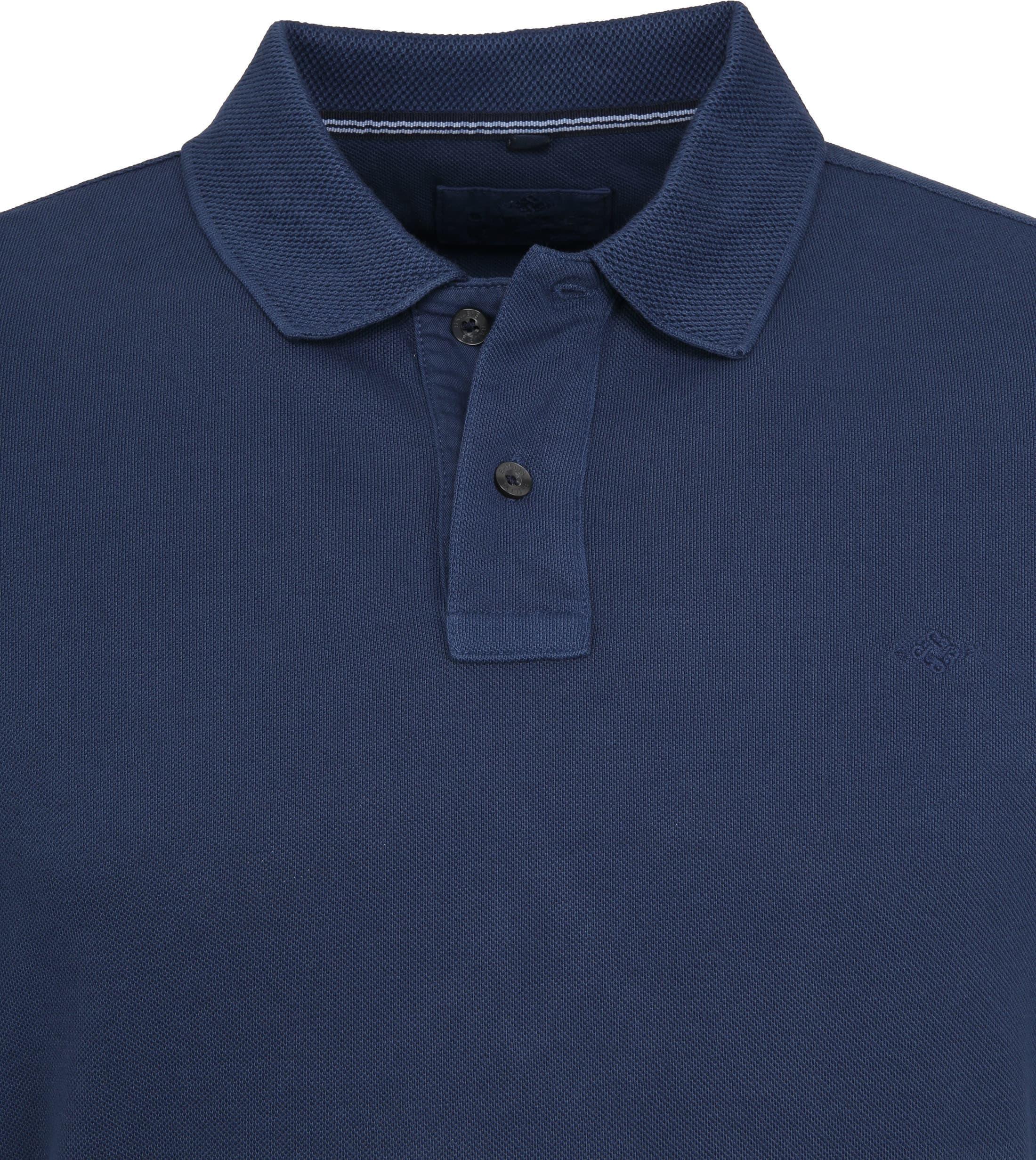 Suitable Vintage Poloshirt Navy foto 1