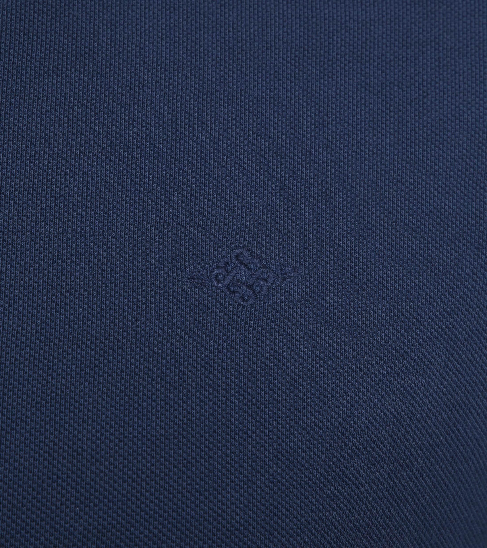 Suitable Vintage Poloshirt Navy foto 2
