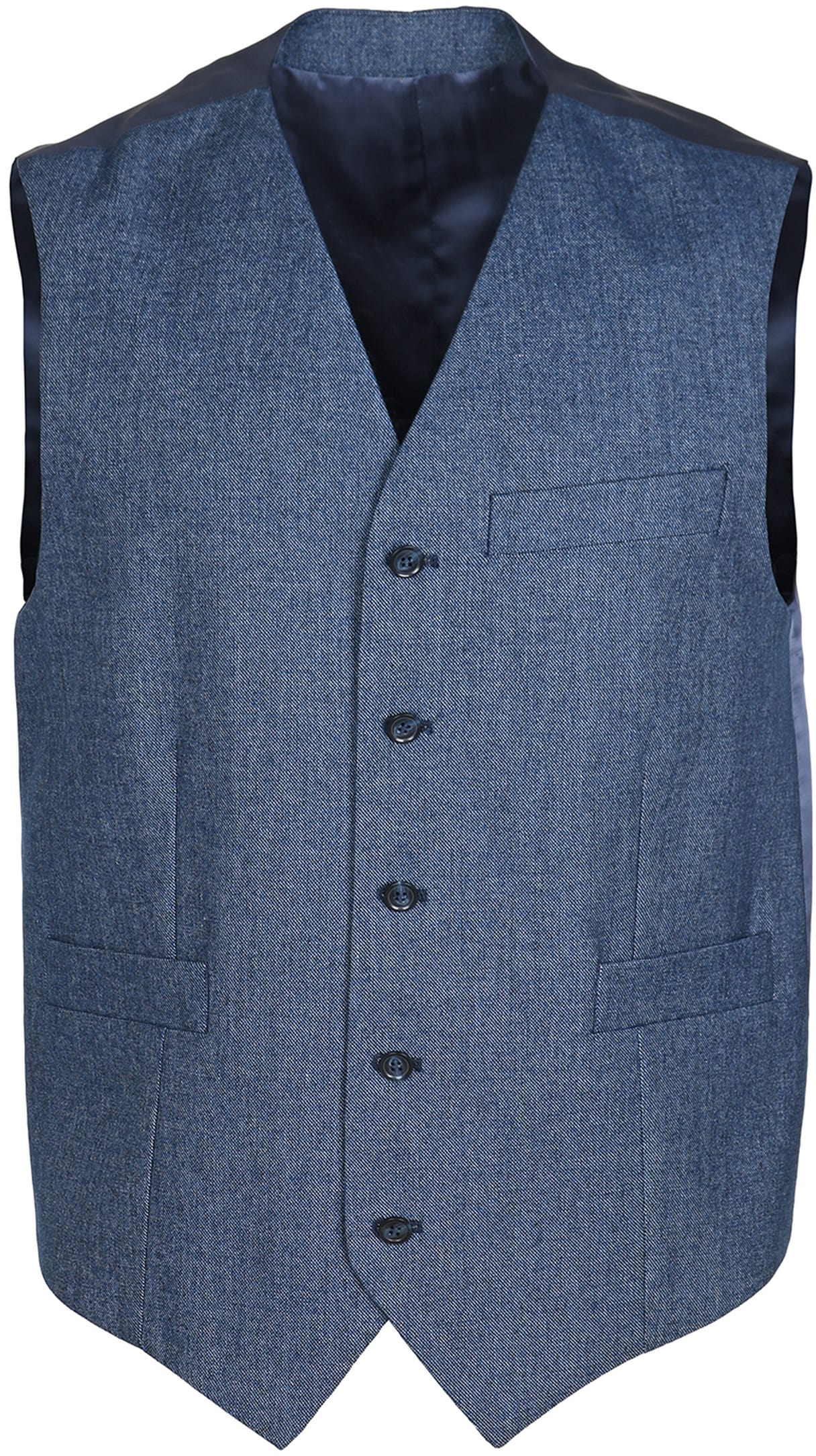 Suitable Waistcoat Marzo Navy
