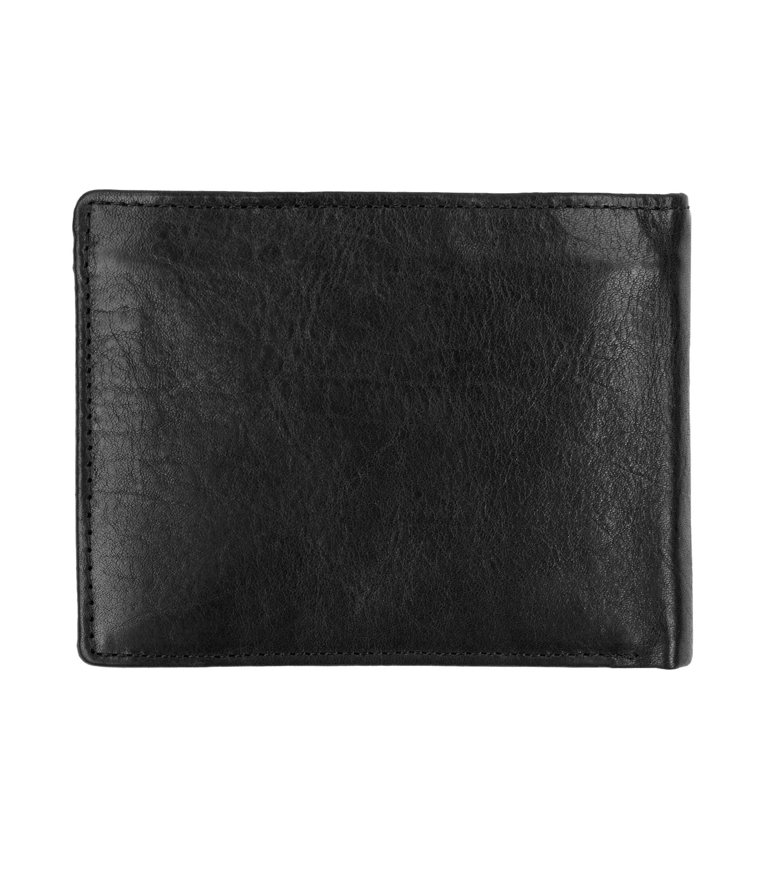 Suitable Wallet Black Leather - Skim Proof foto 4