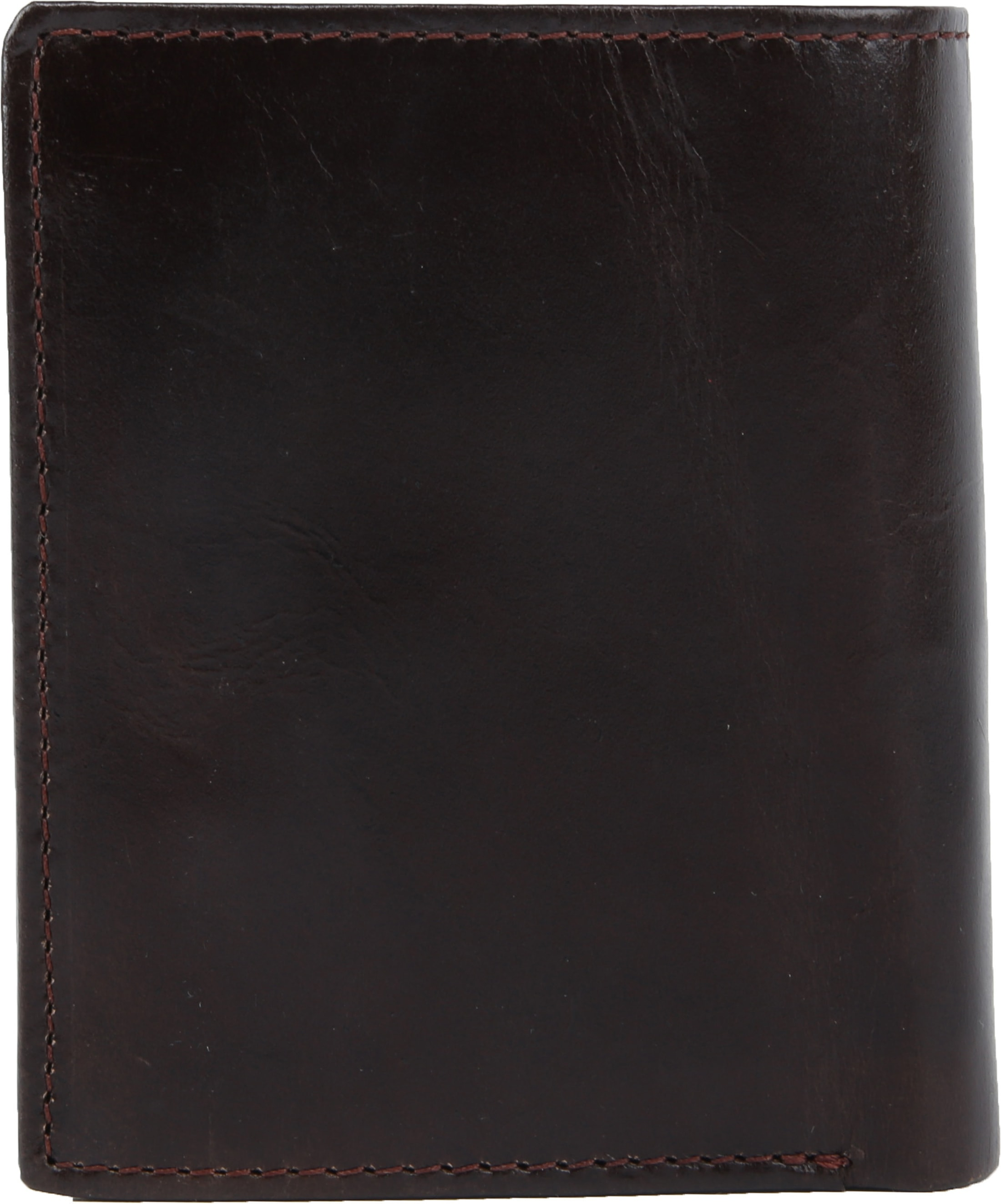 Suitable Wallet Nikkei Dark Brown Leather - Skim Proof
