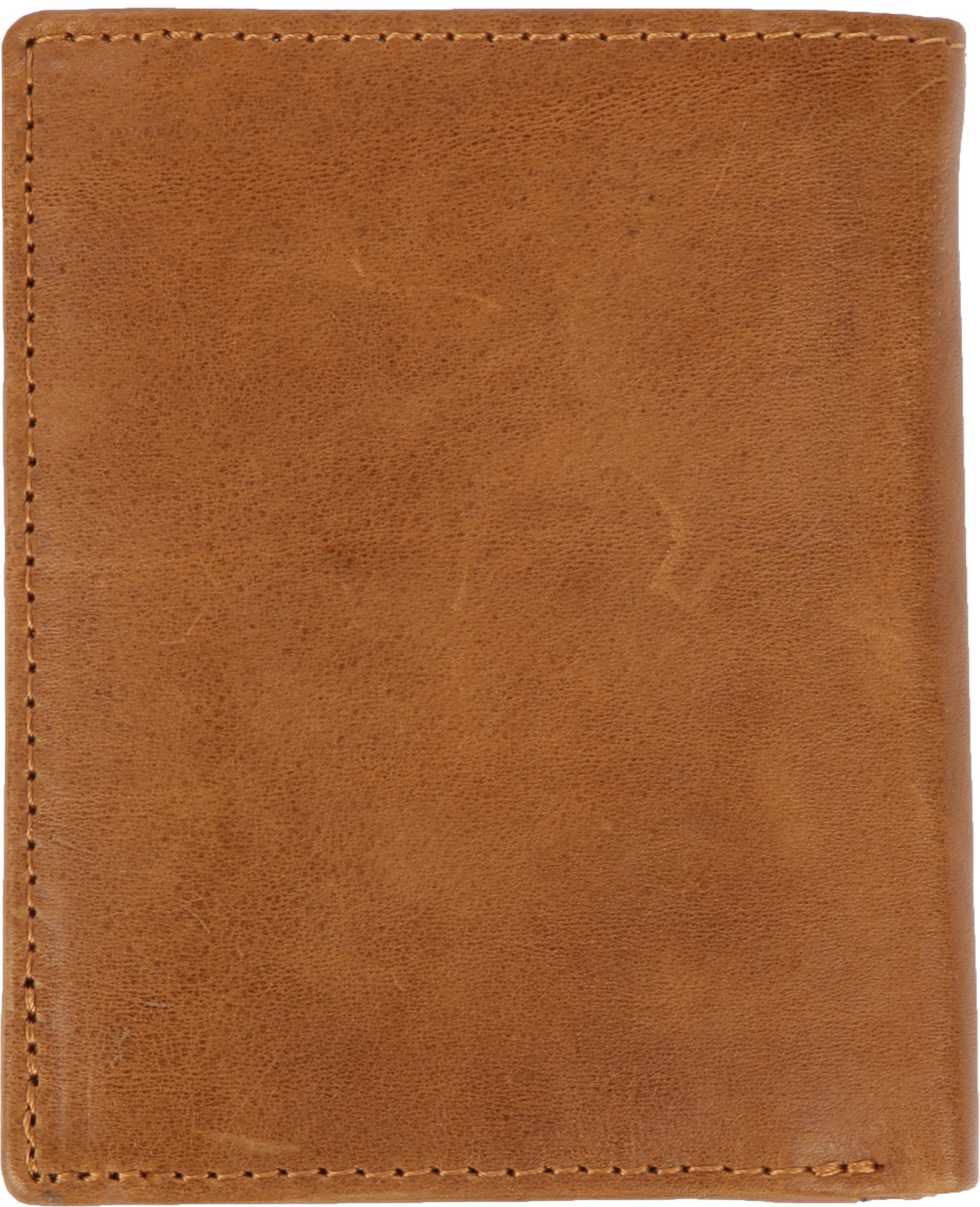 Suitable Wallet Nikkei Light Brown Leather - Skim Proof foto 4