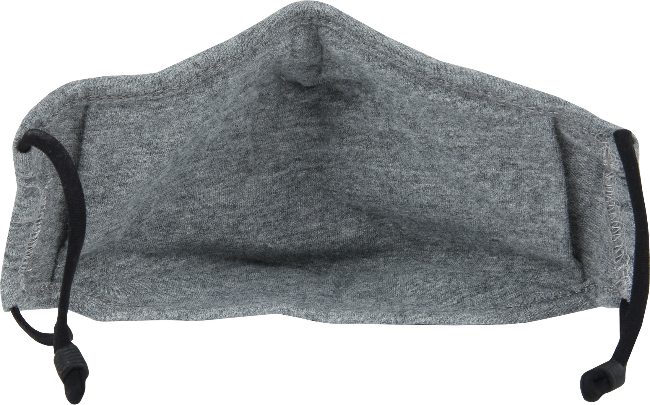 Suitable Waschbar Mundkappe Melange Grau