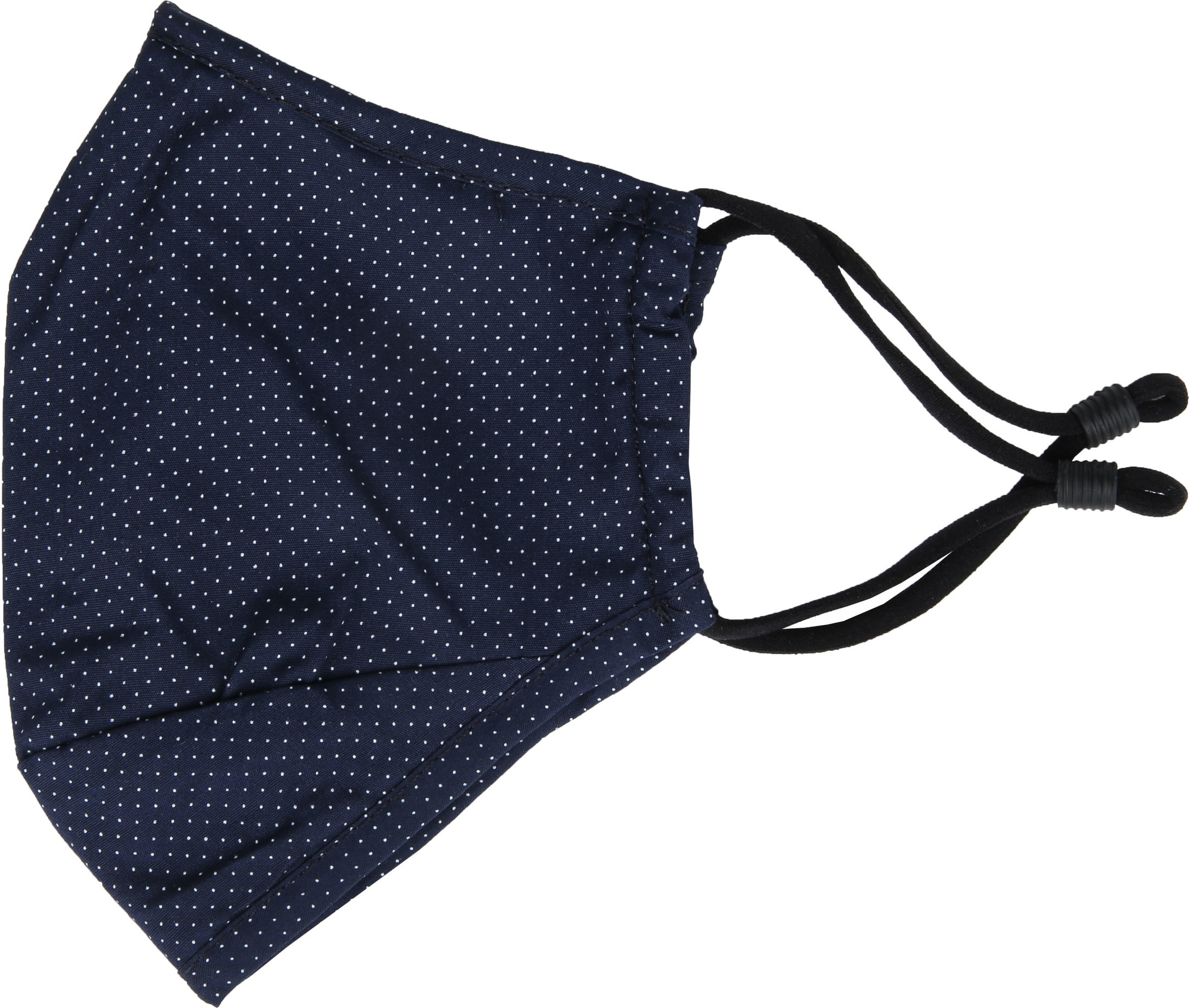 Suitable Washable Mouth Mask Dots Navy