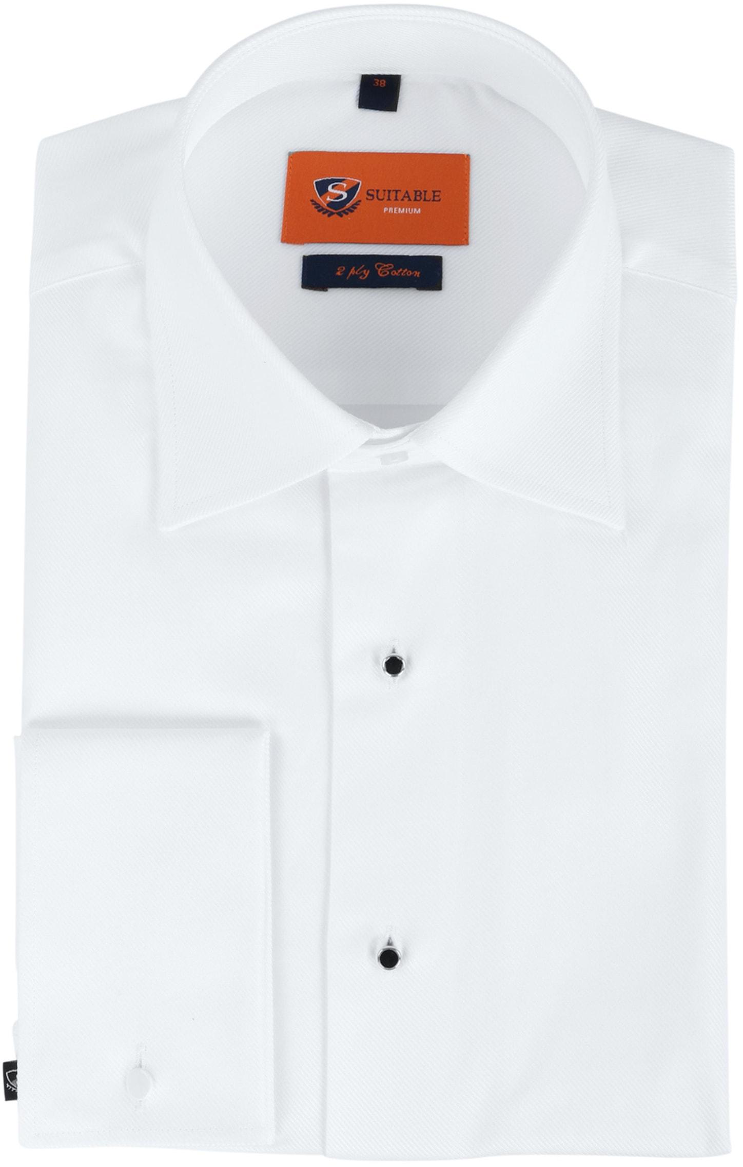 Suitable Weißes Smoking Hemd foto 0