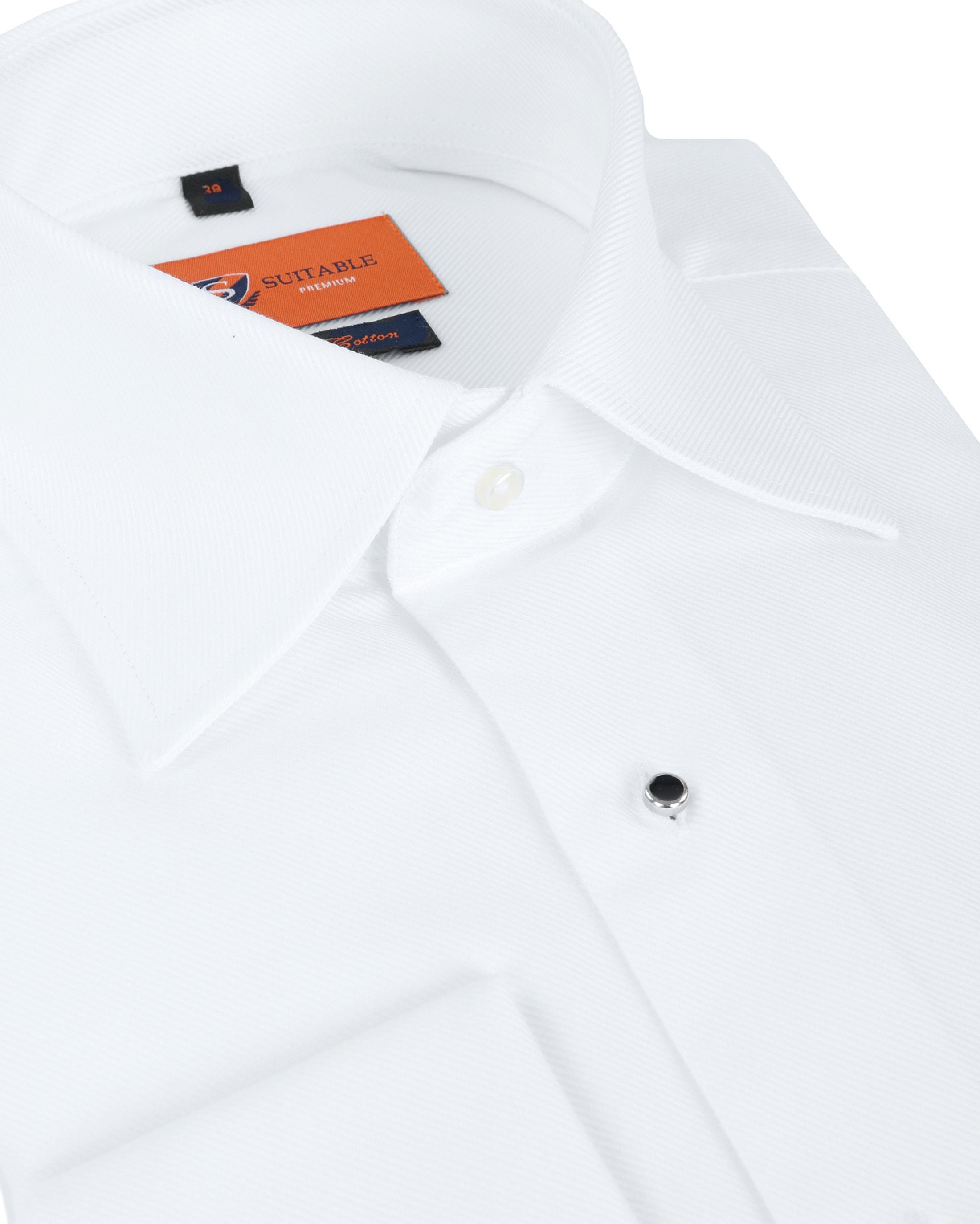 Suitable Weißes Smoking Hemd foto 1