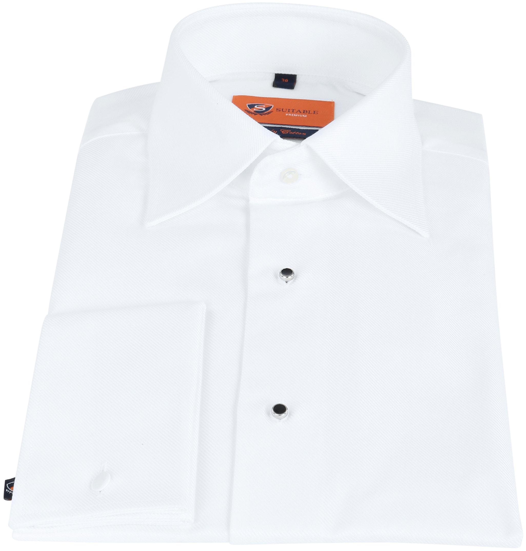 Suitable Weißes Smoking Hemd foto 2