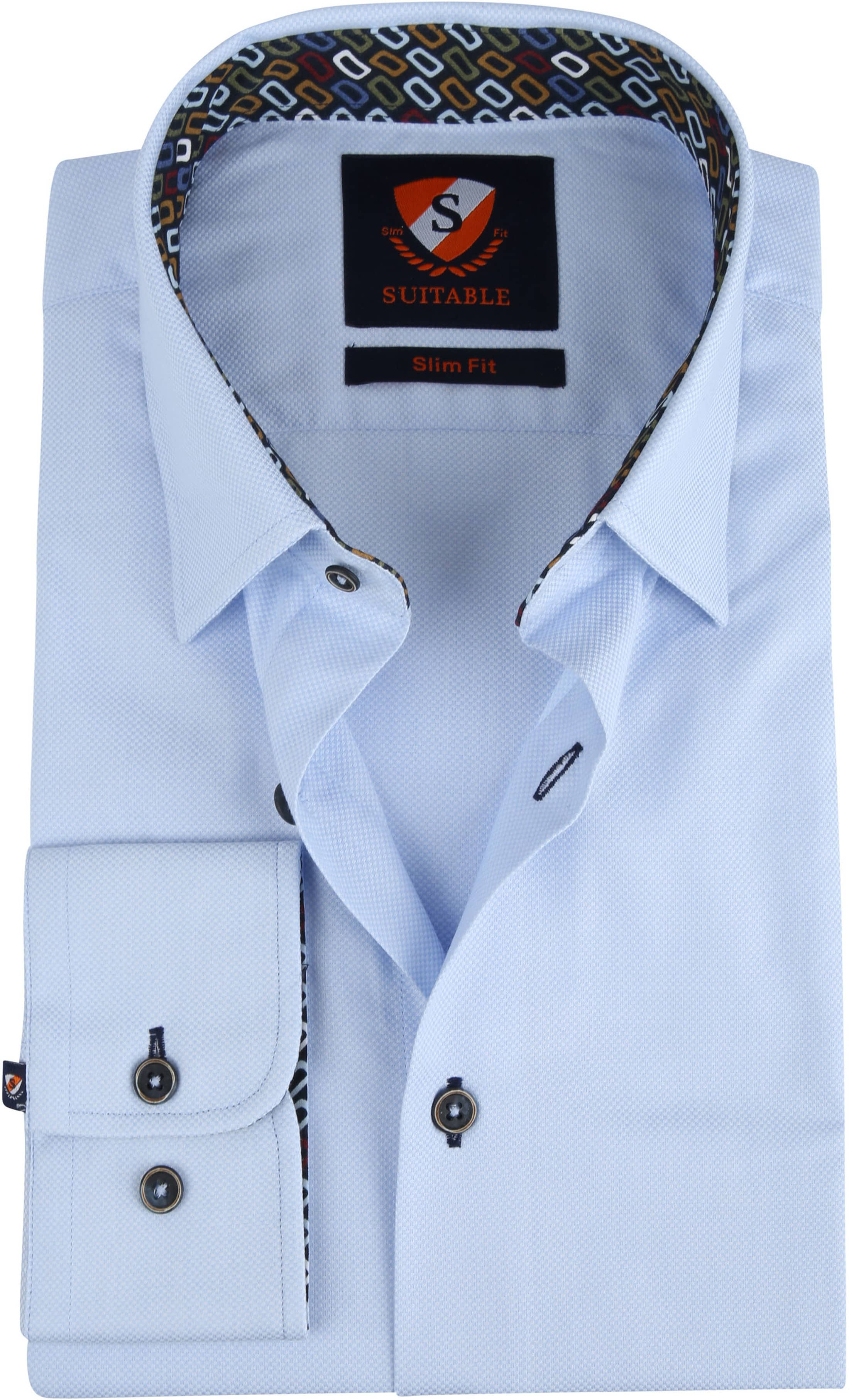 Suitable Wesley Shirt Light Blue photo 0