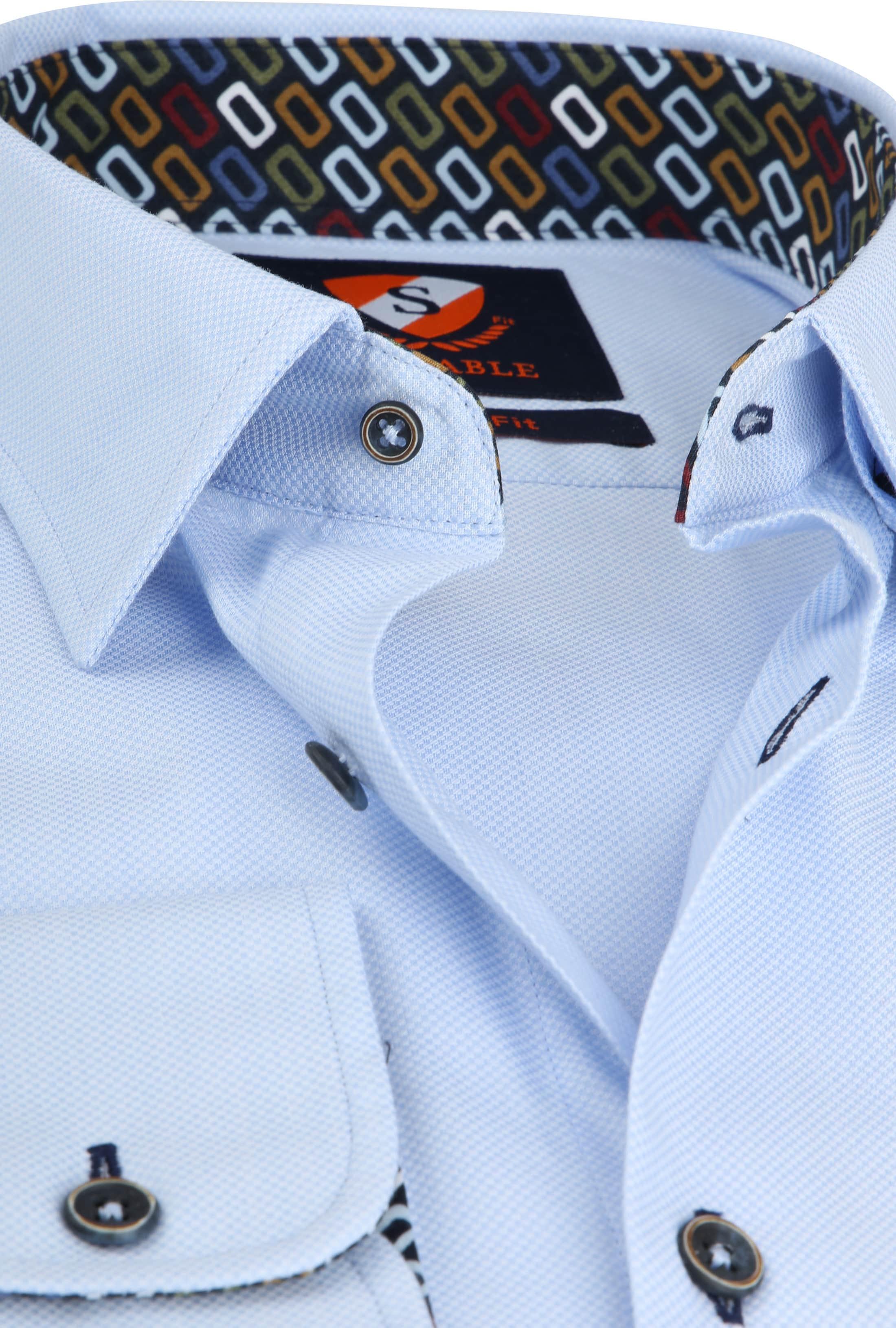Suitable Wesley Shirt Light Blue photo 1