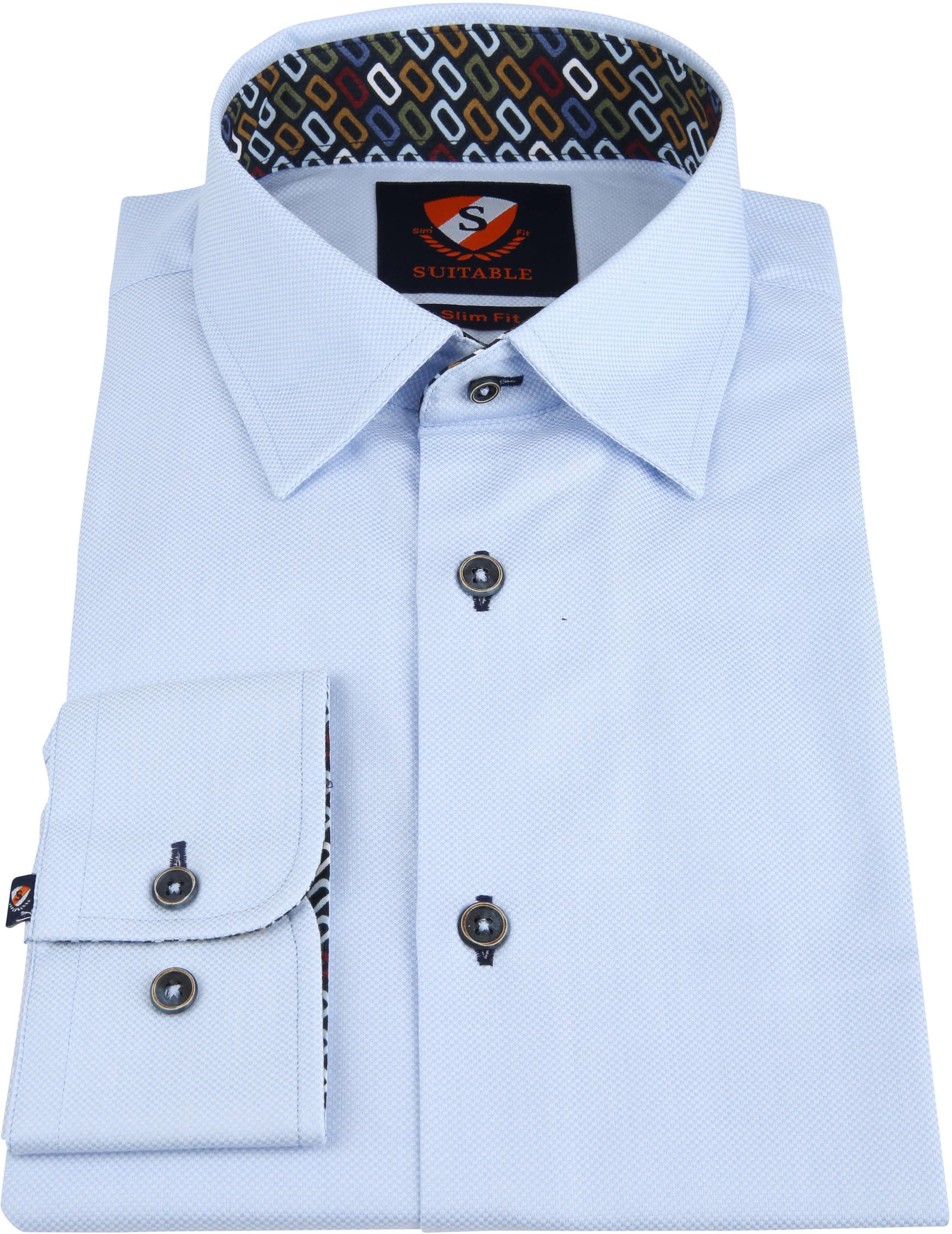 Suitable Wesley Shirt Light Blue photo 2