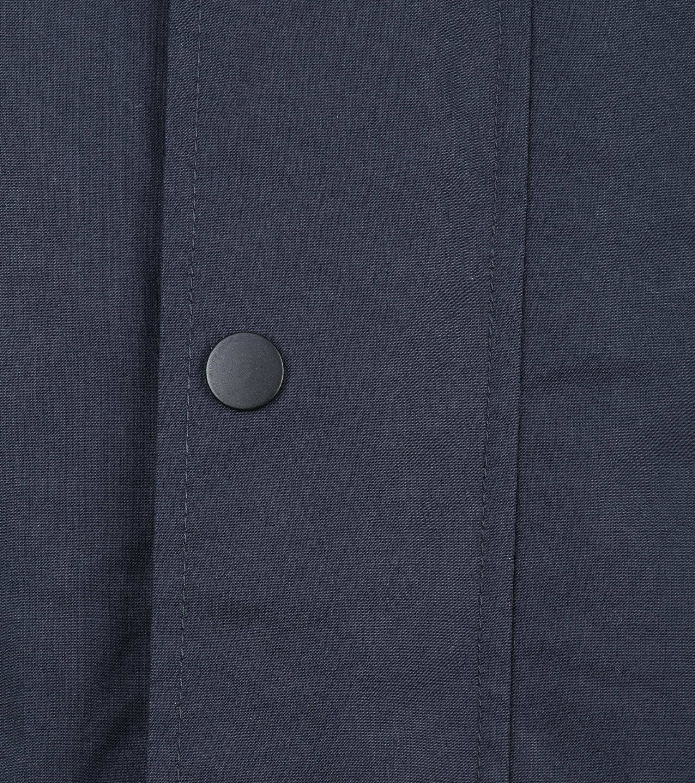 Suitable Winterjas Waxed-look Donkerblauw foto 2