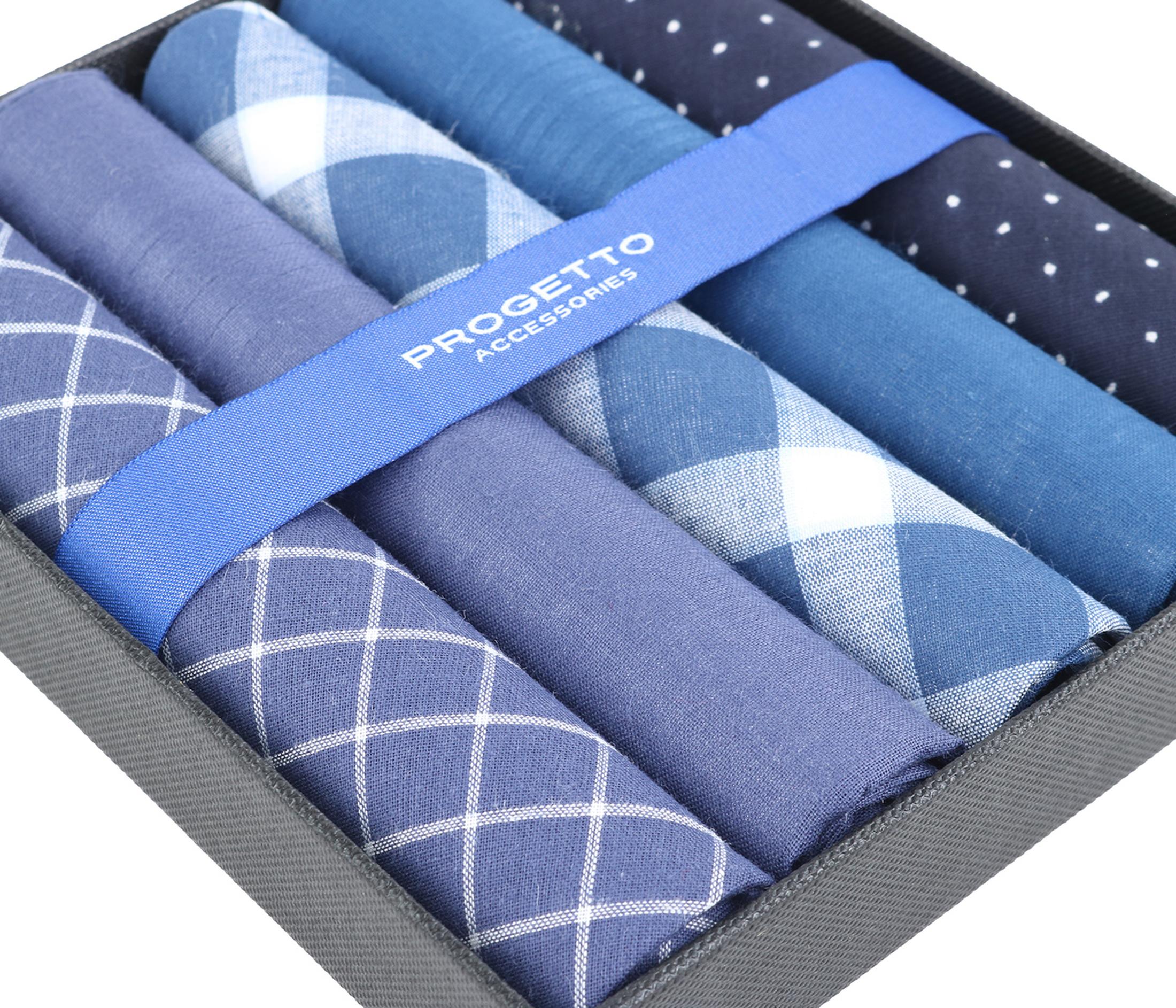 Suitable Zakdoeken Blauw foto 2