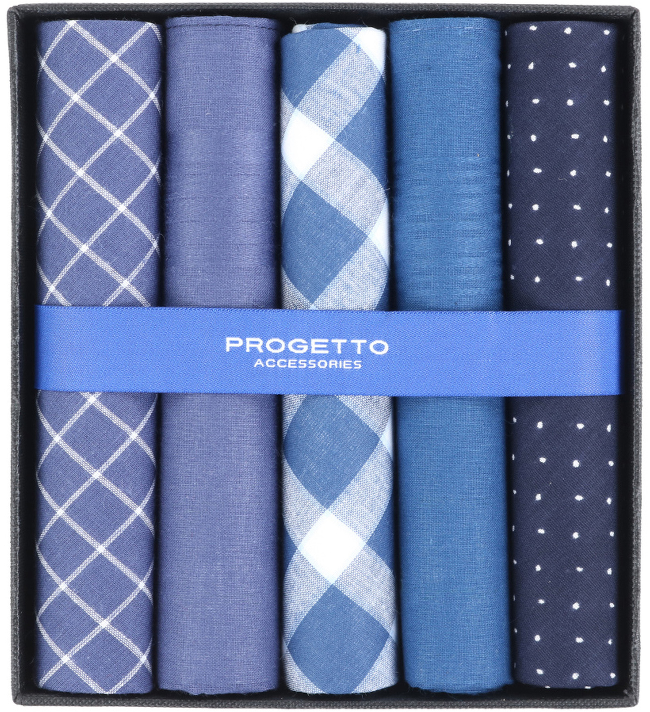 Suitable Zakdoeken Blauw foto 0