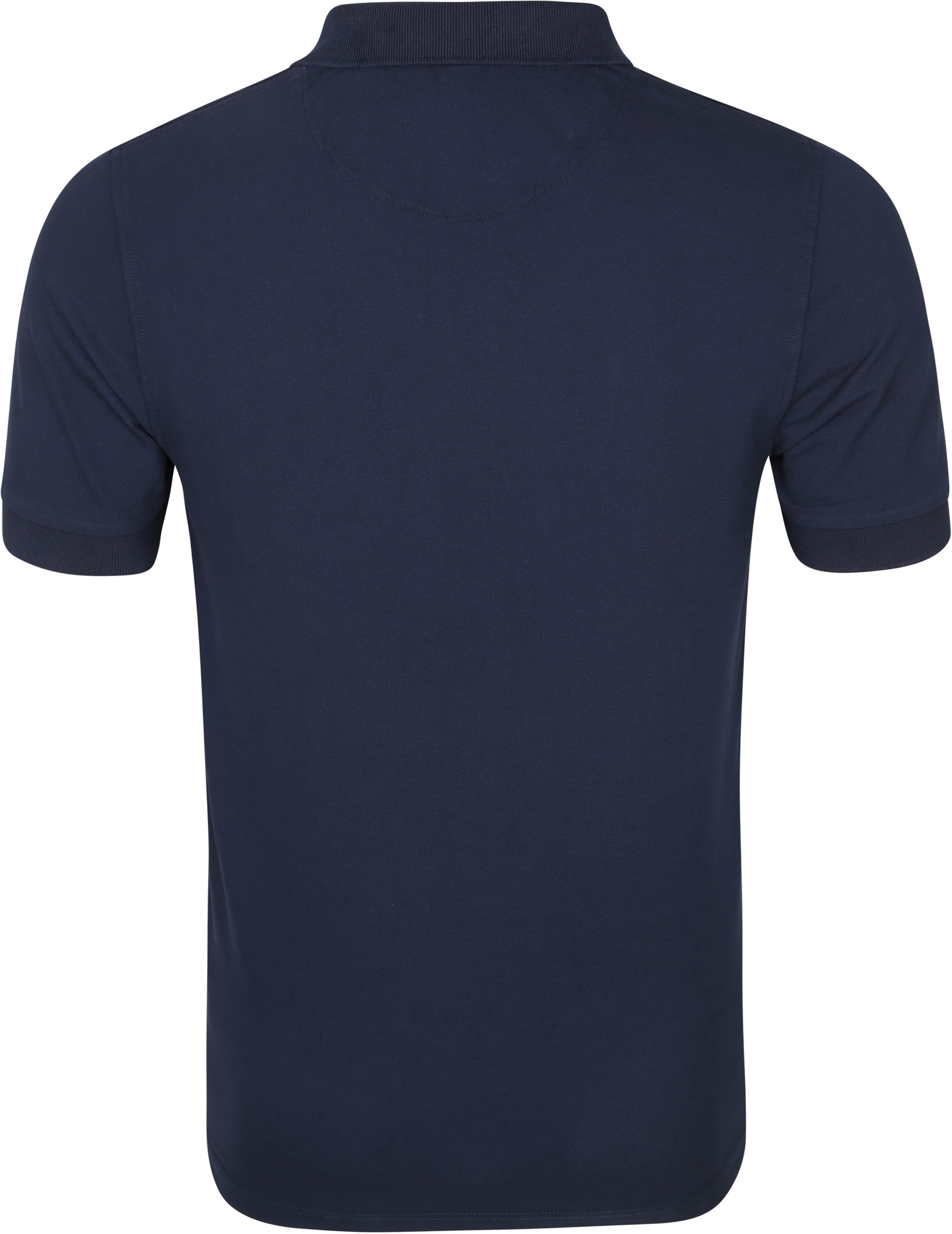 Sun68 Polo Cold Dye Donkerblauw