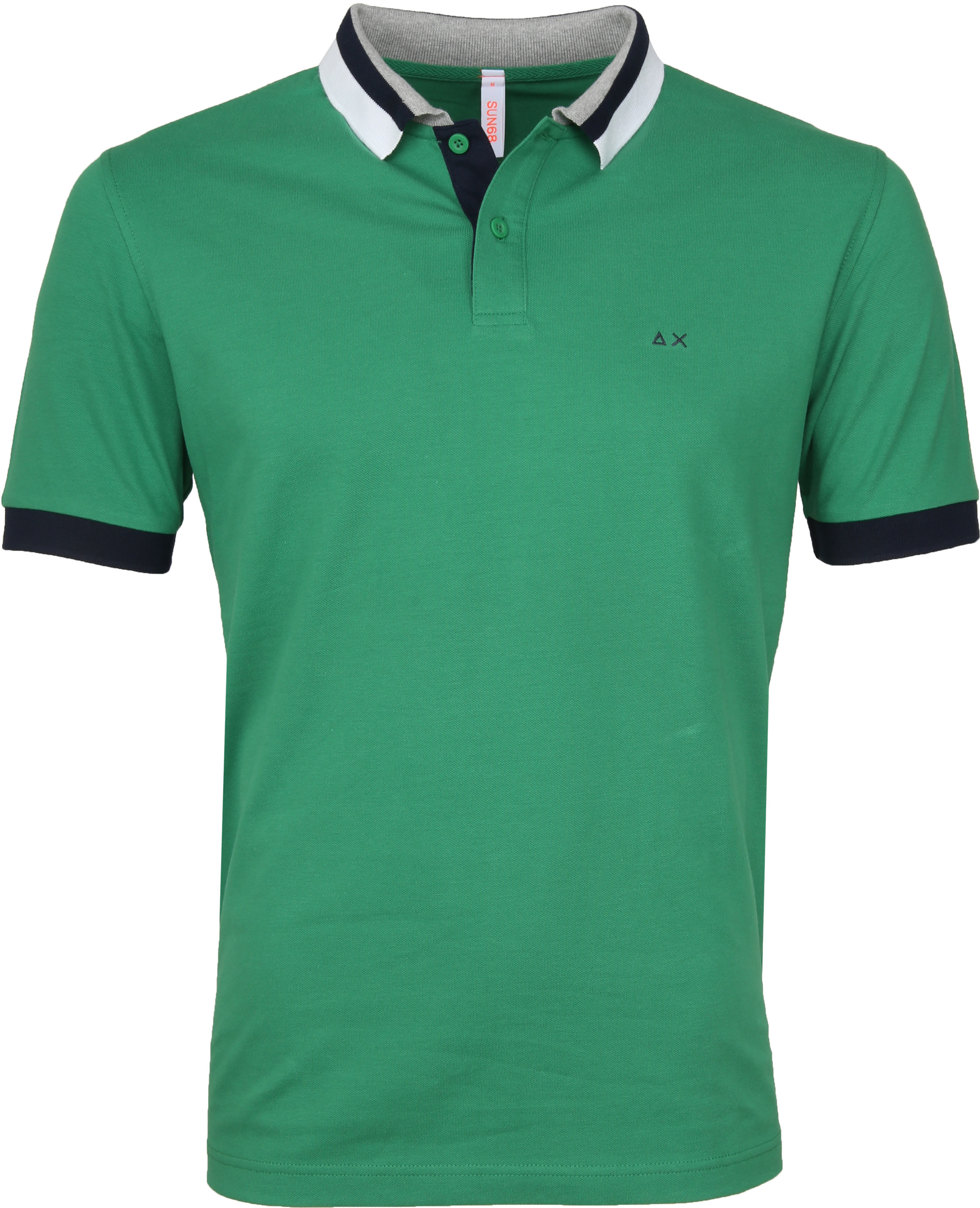 Sun68 Polo Three Collar Green foto 0