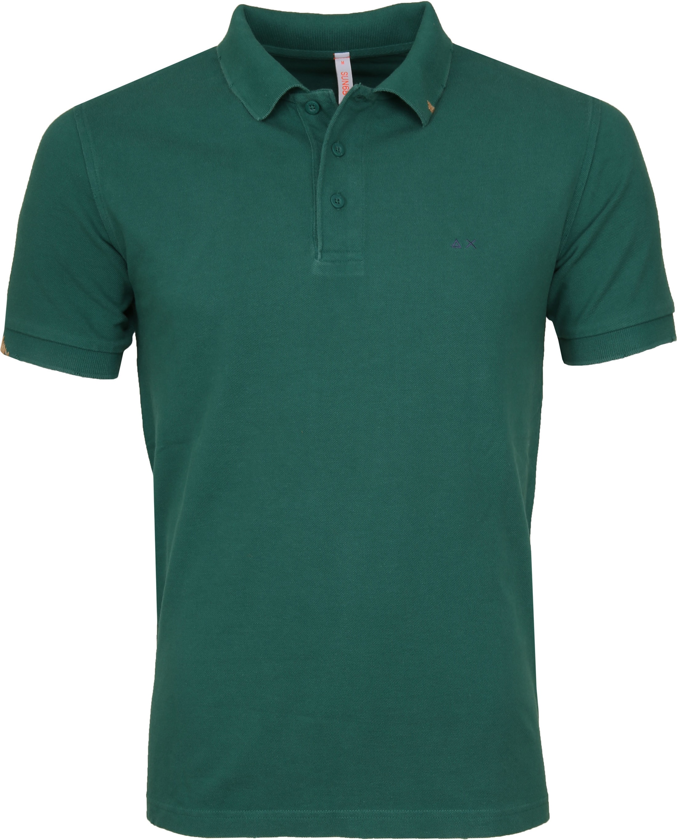 Sun68 Polo Vintage Solid Green foto 0