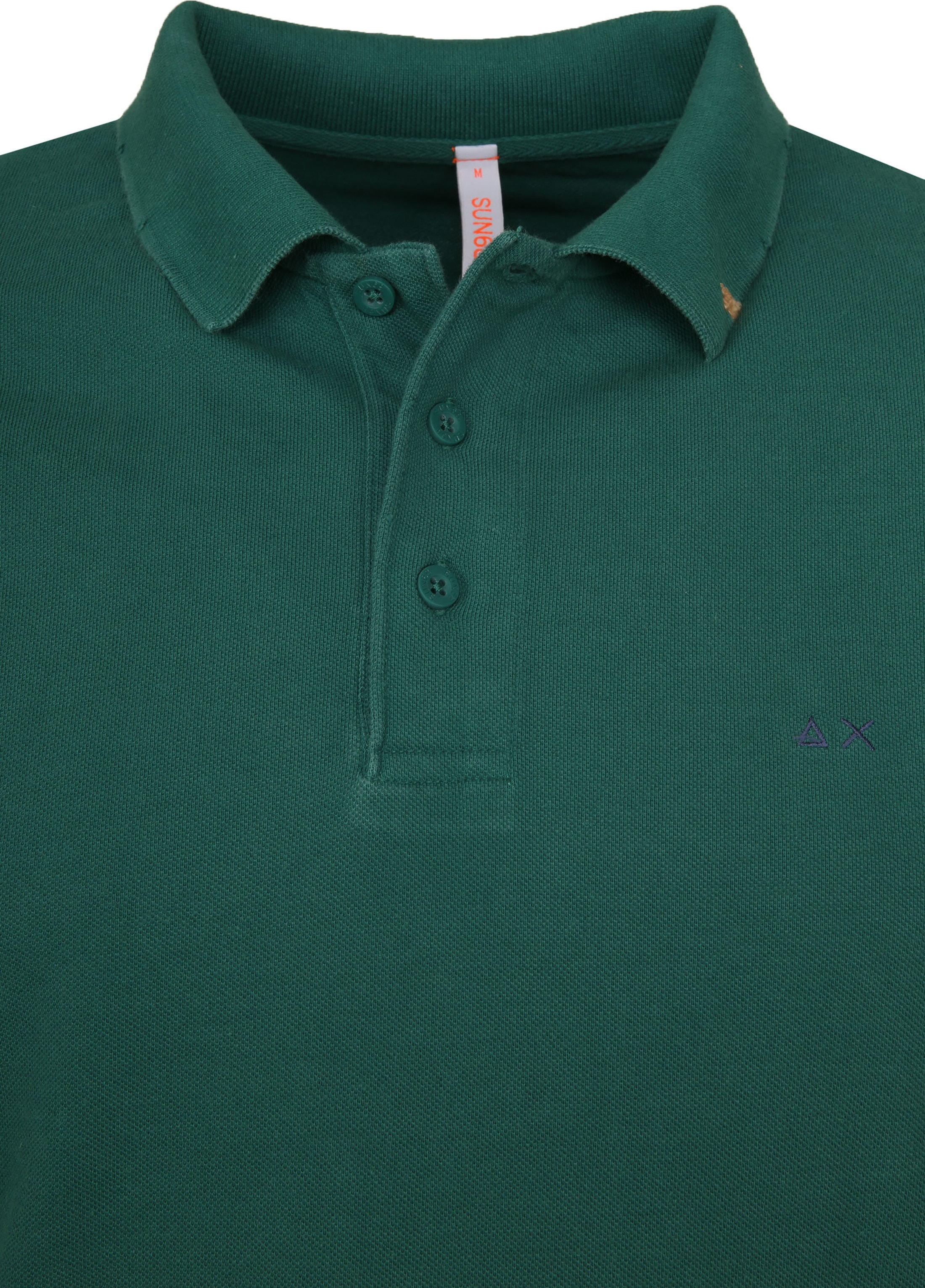 Sun68 Polo Vintage Solid Green foto 1