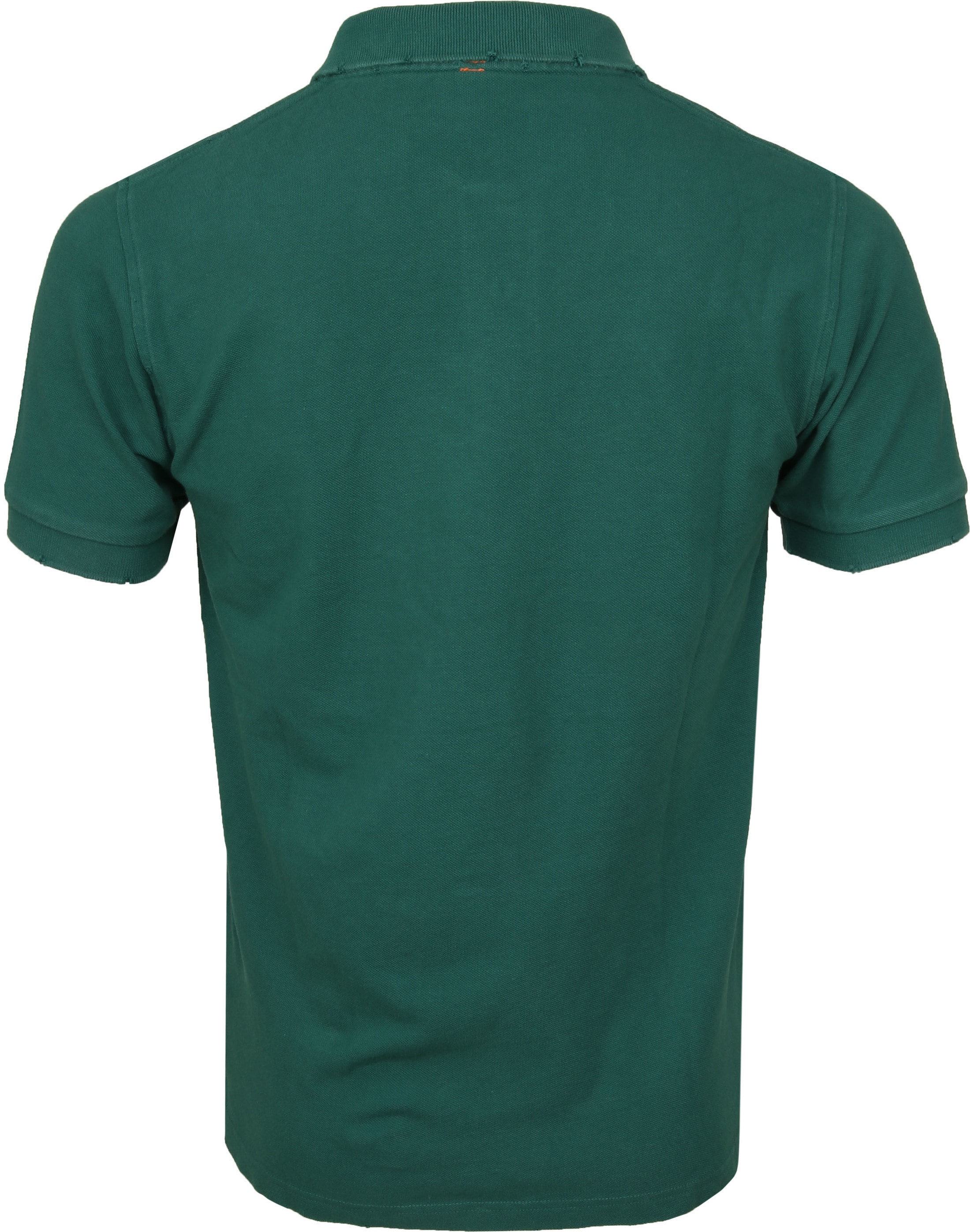 Sun68 Polo Vintage Solid Green foto 3
