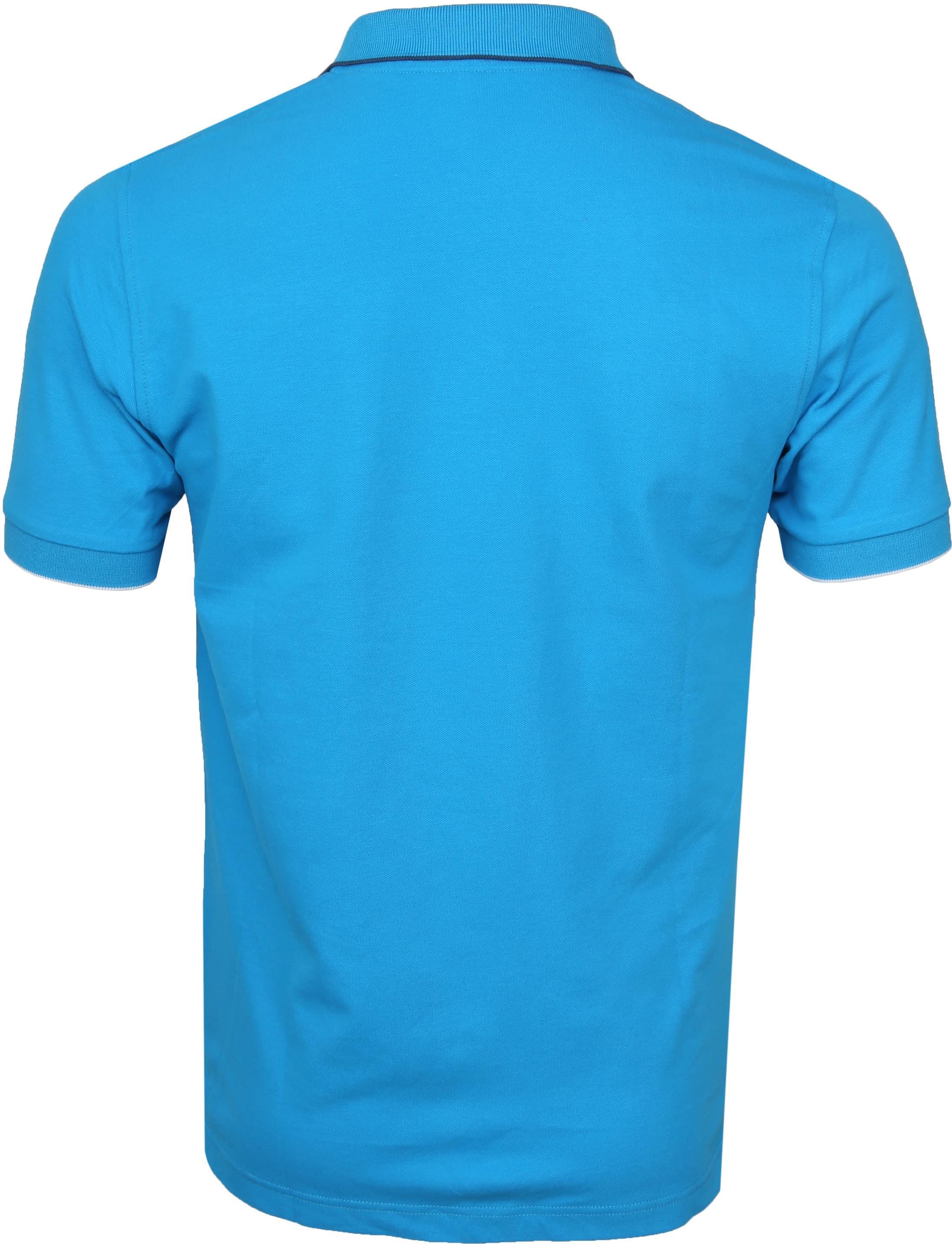 Sun68 Poloshirt Small Stripe Blau SF foto 2