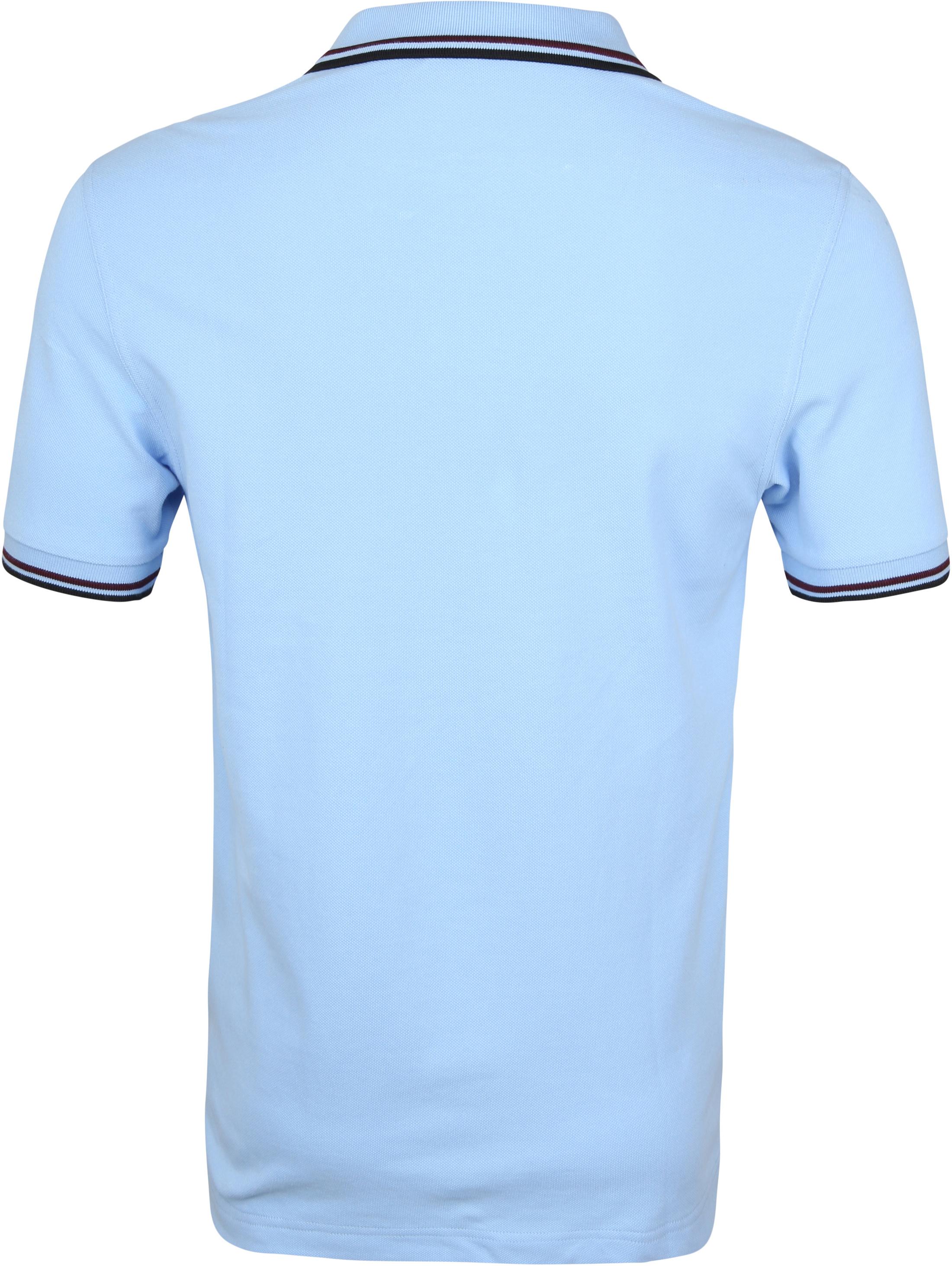 Sun68 Poloshirt Small Stripe Blau SF foto 5