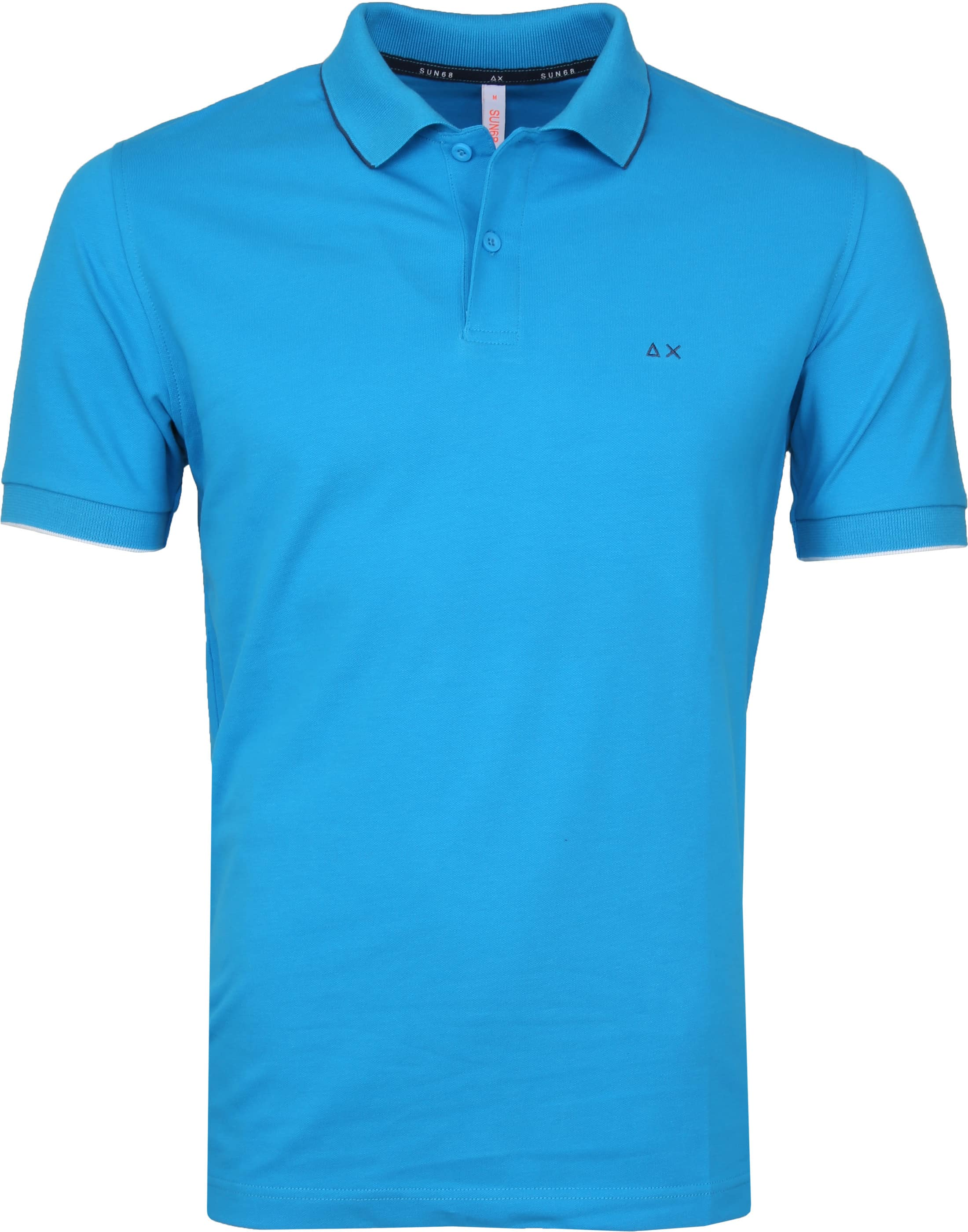 Sun68 Poloshirt Small Stripe Blue SF foto 0