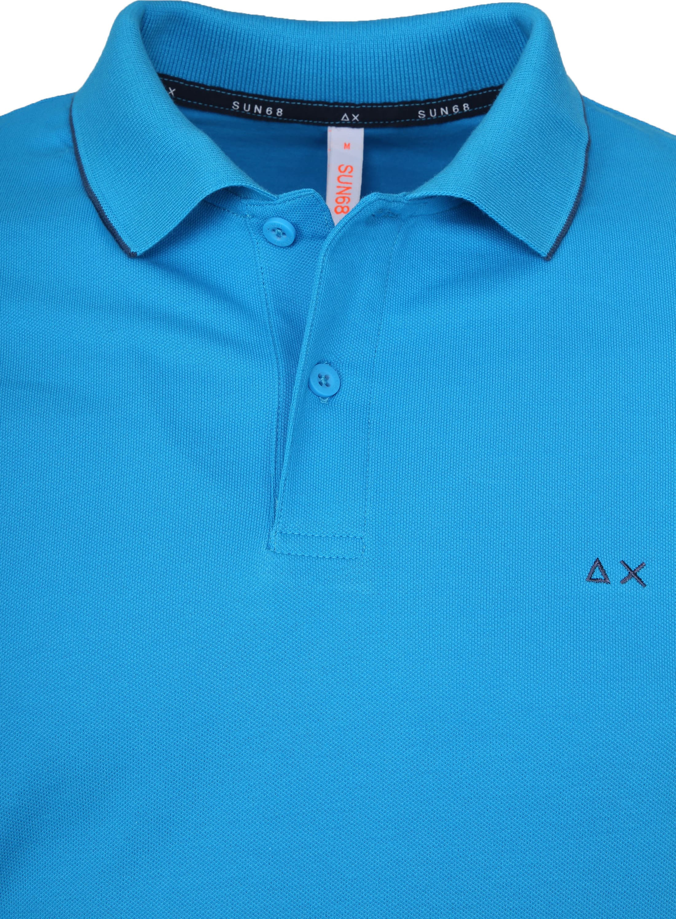 Sun68 Poloshirt Small Stripe Blue SF foto 1