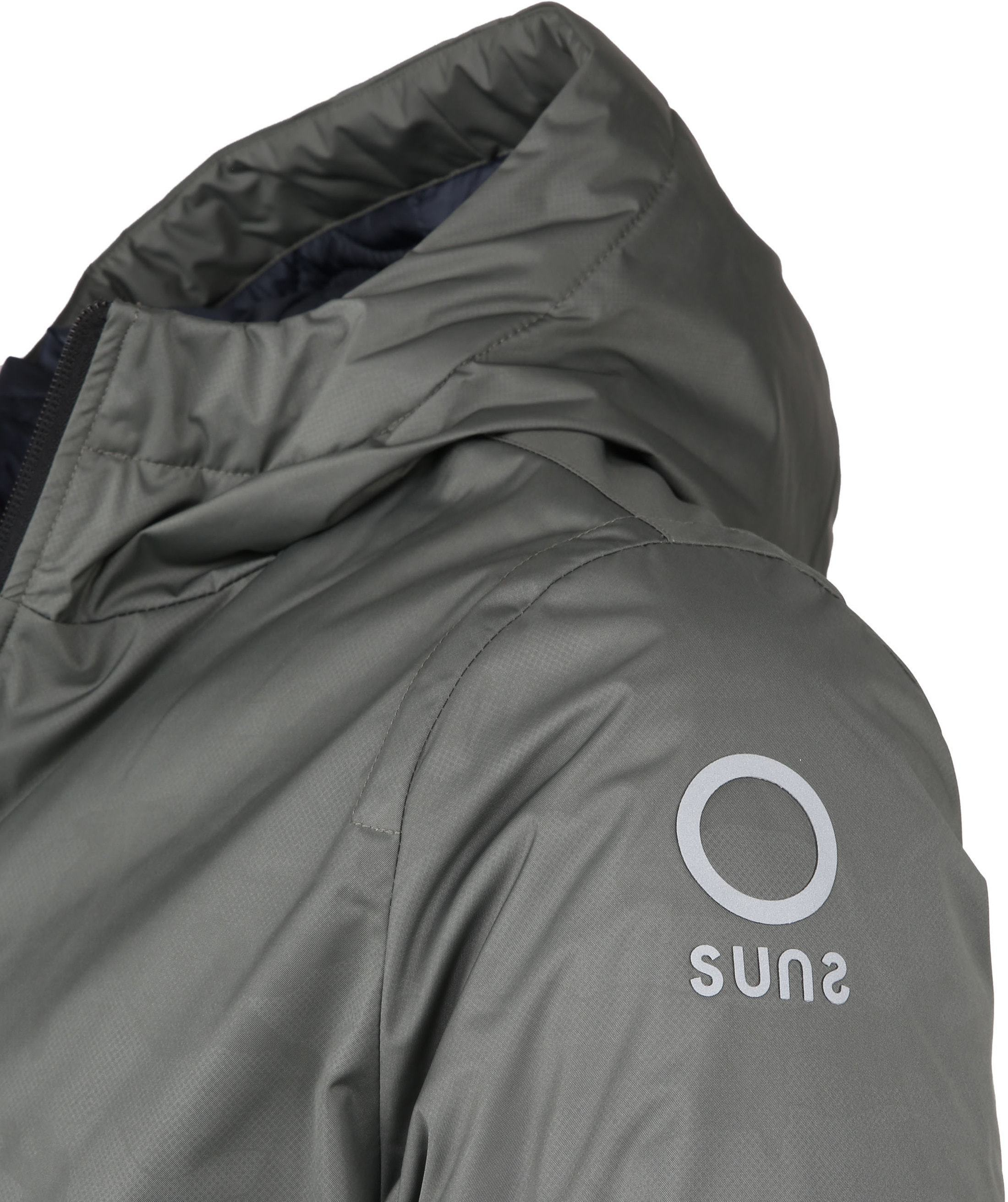 Sunstripes Jacke Padded Fly Armee foto 2