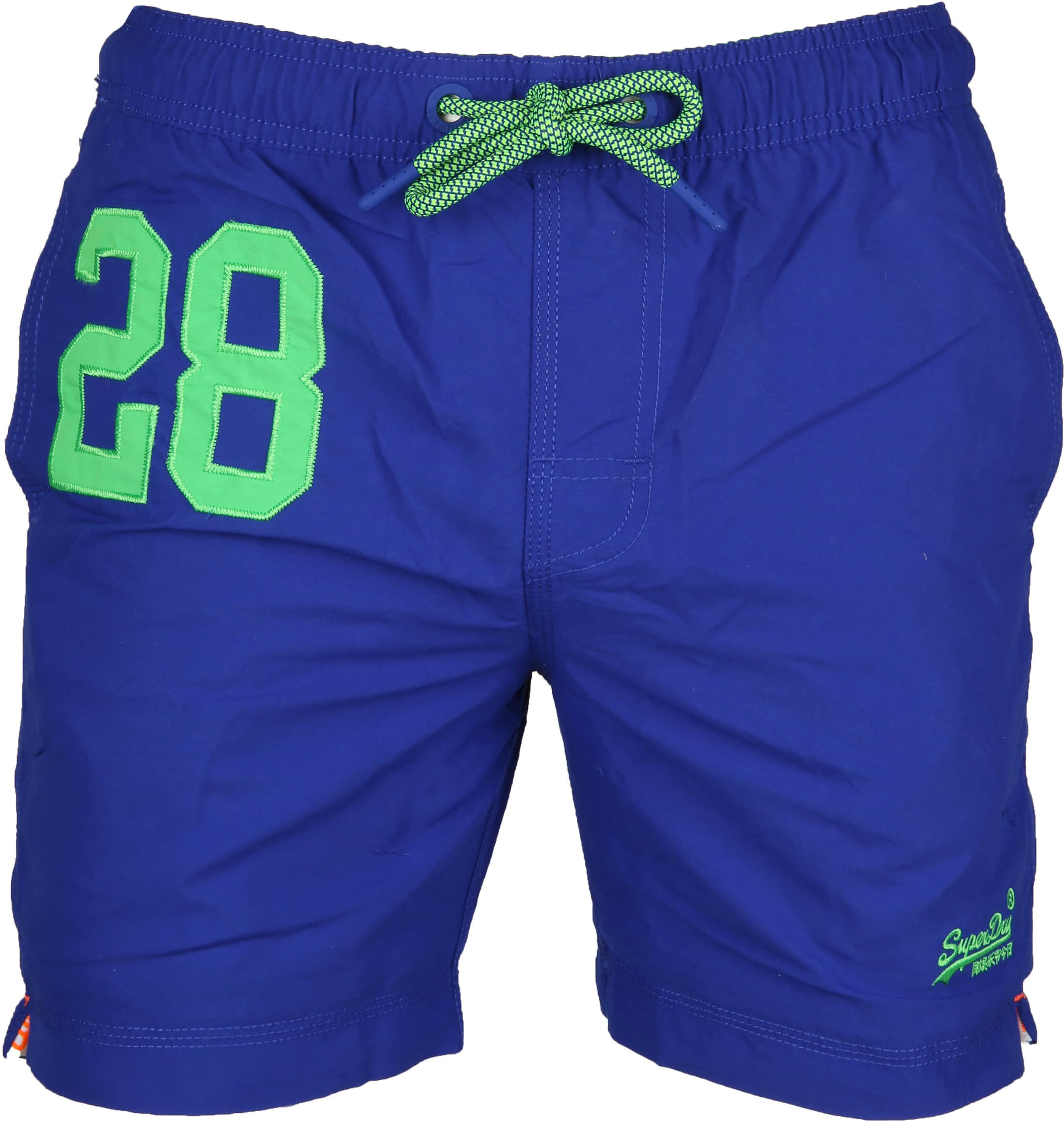 best website 7f6dd 5cf8b Superdry Badeshorts Water Polo Cobalt Blau M30018AT-OM3 ...