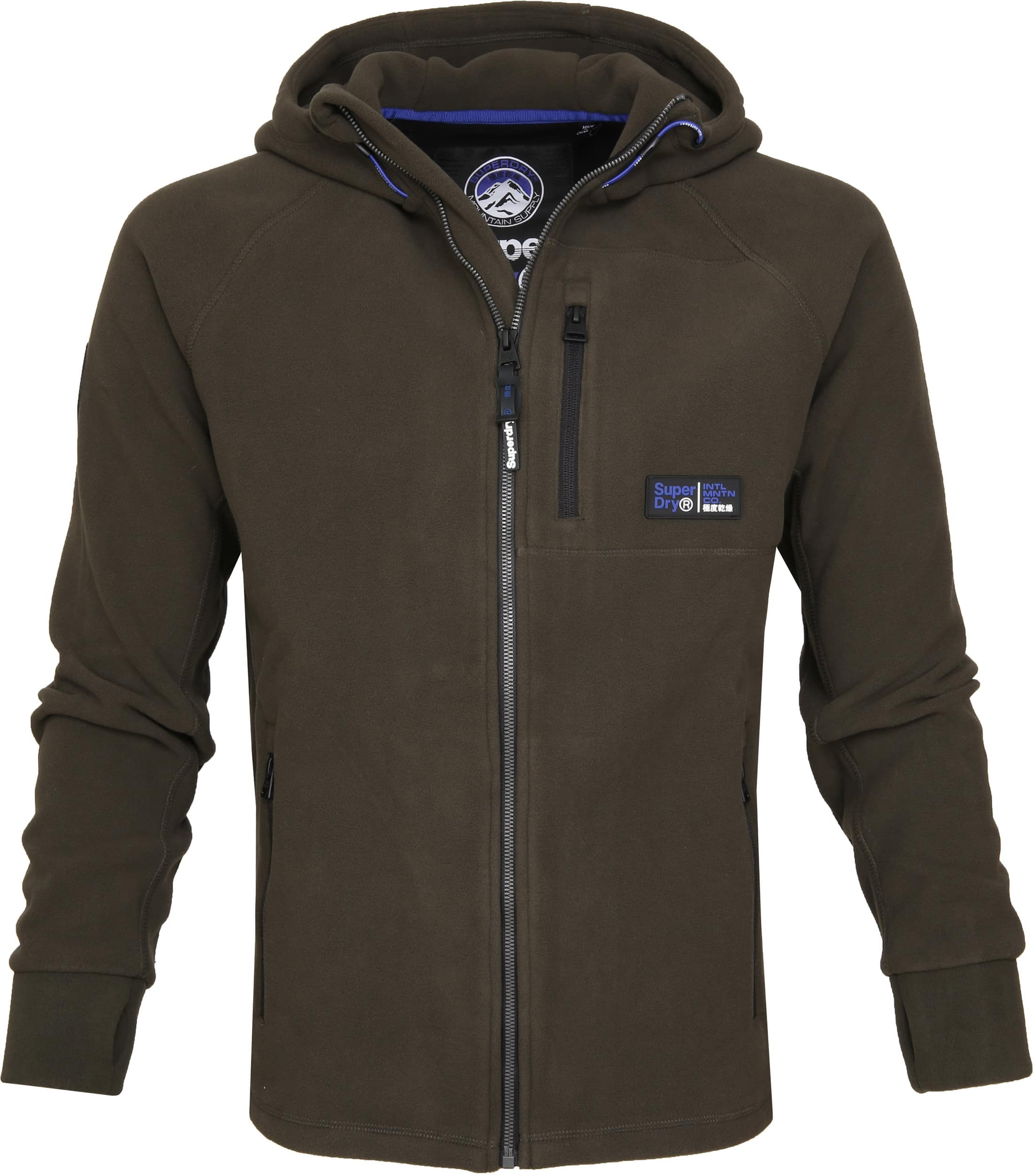 lowest price 6eaad b9462 Superdry Cardigan Polar Fleece Armee M2000029A- 18E online ...