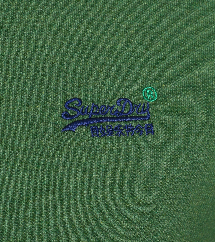 Superdry Classic Pique Polo Groen