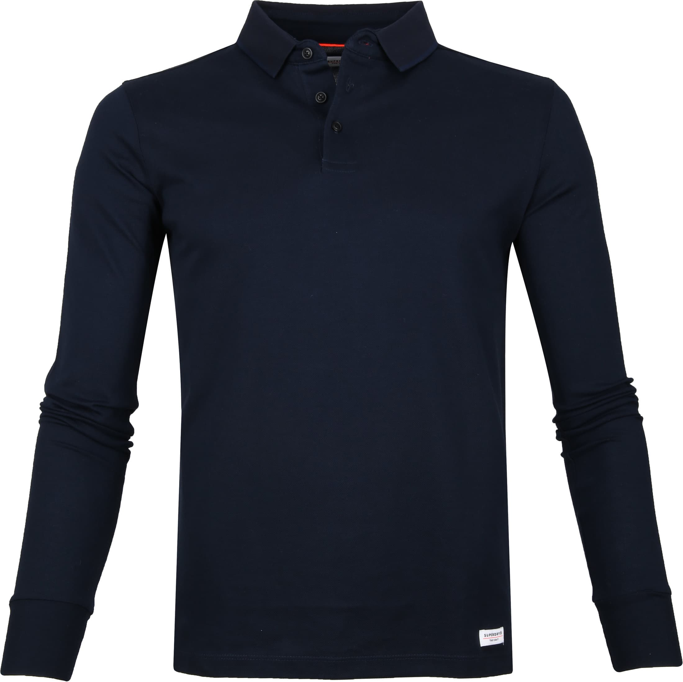 Superdry Classic Polo LS Navy foto 0