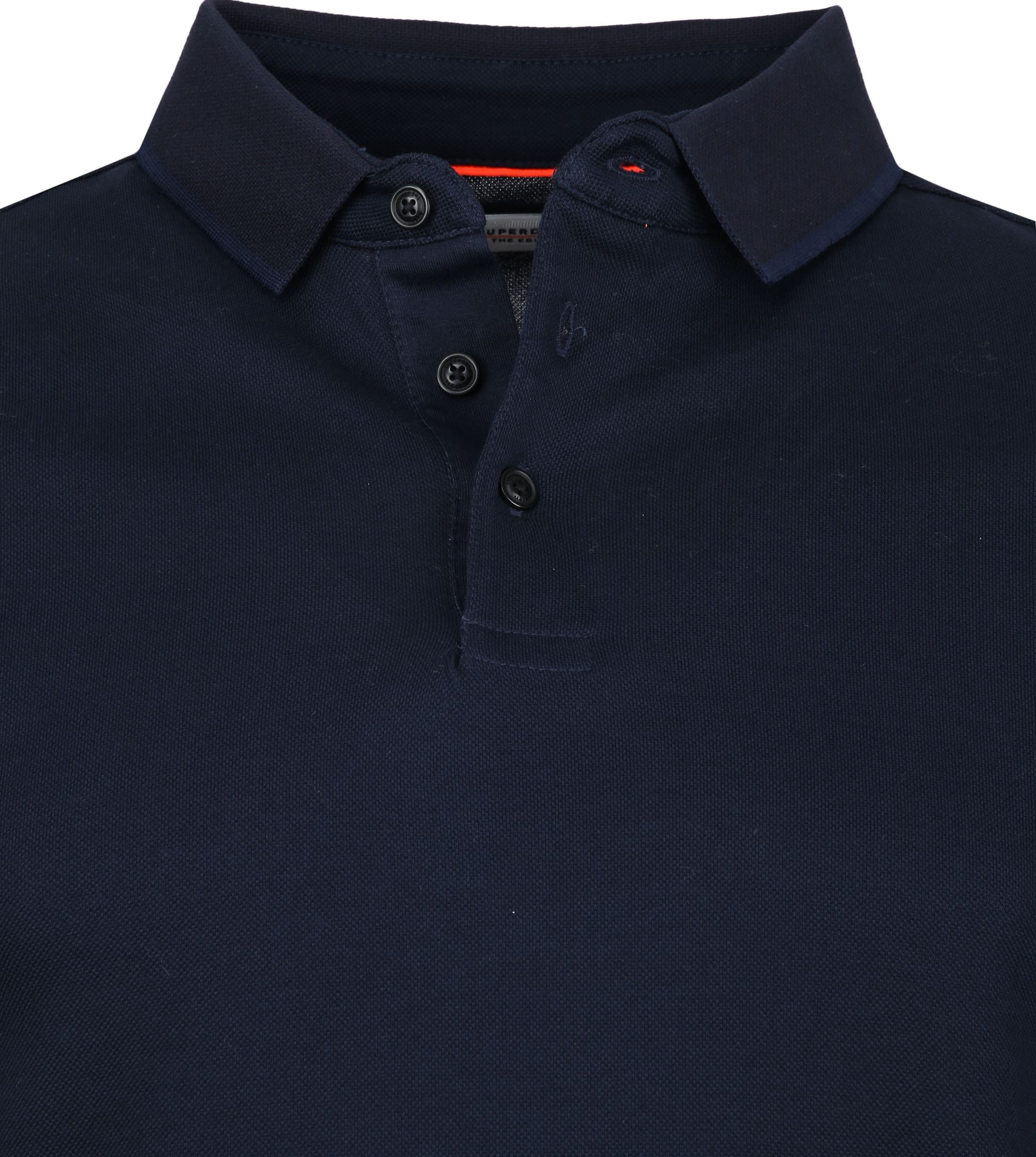 Superdry Classic Polo LS Navy foto 1