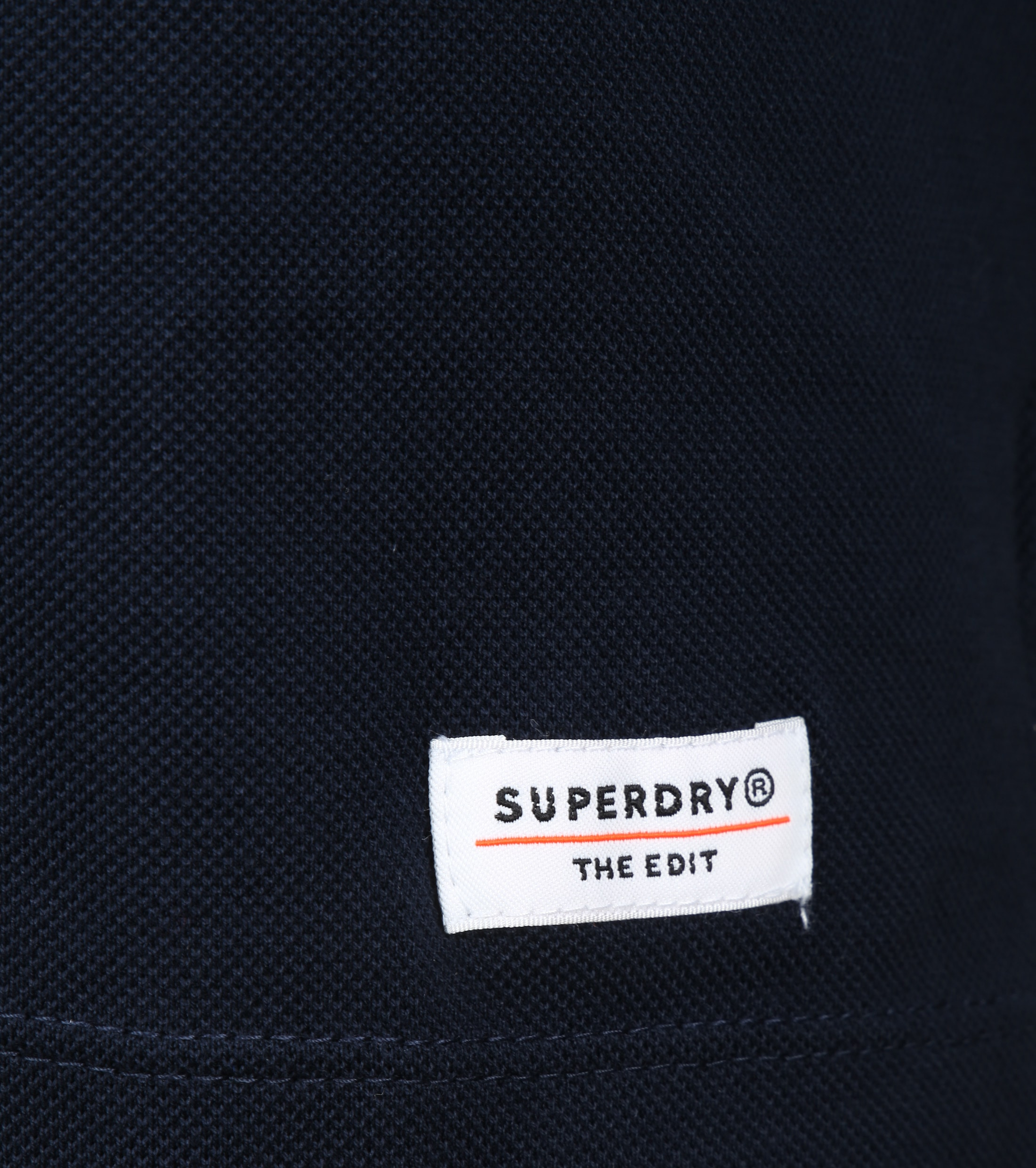 Superdry Classic Polo LS Navy foto 3