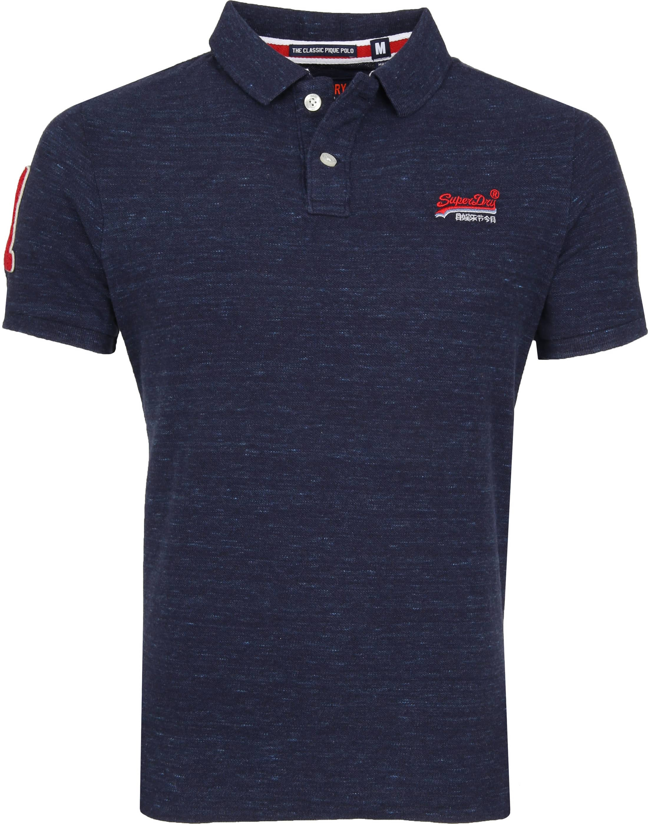 Superdry Classic Polo Navy foto 0