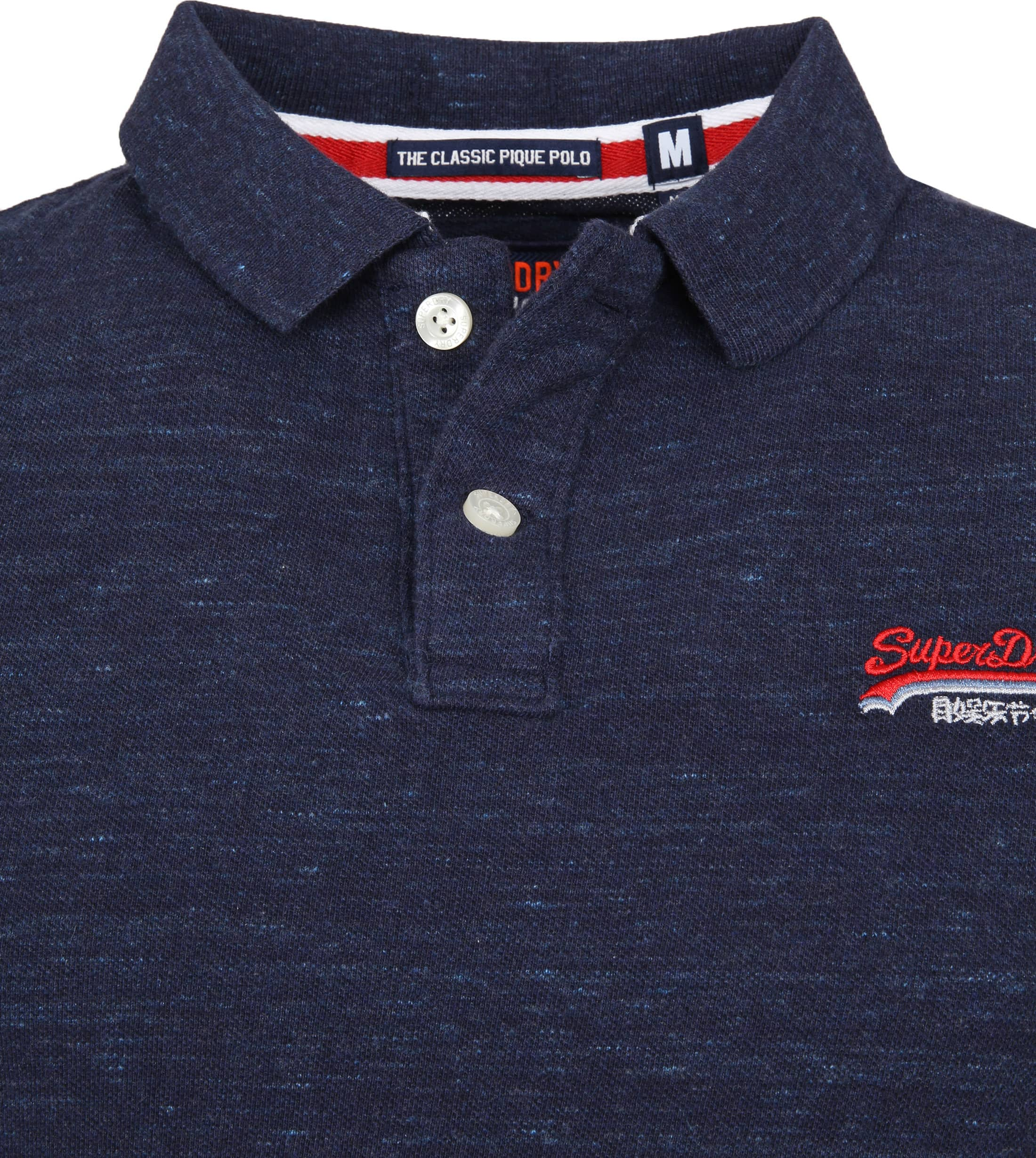 Superdry Classic Polo Navy foto 1