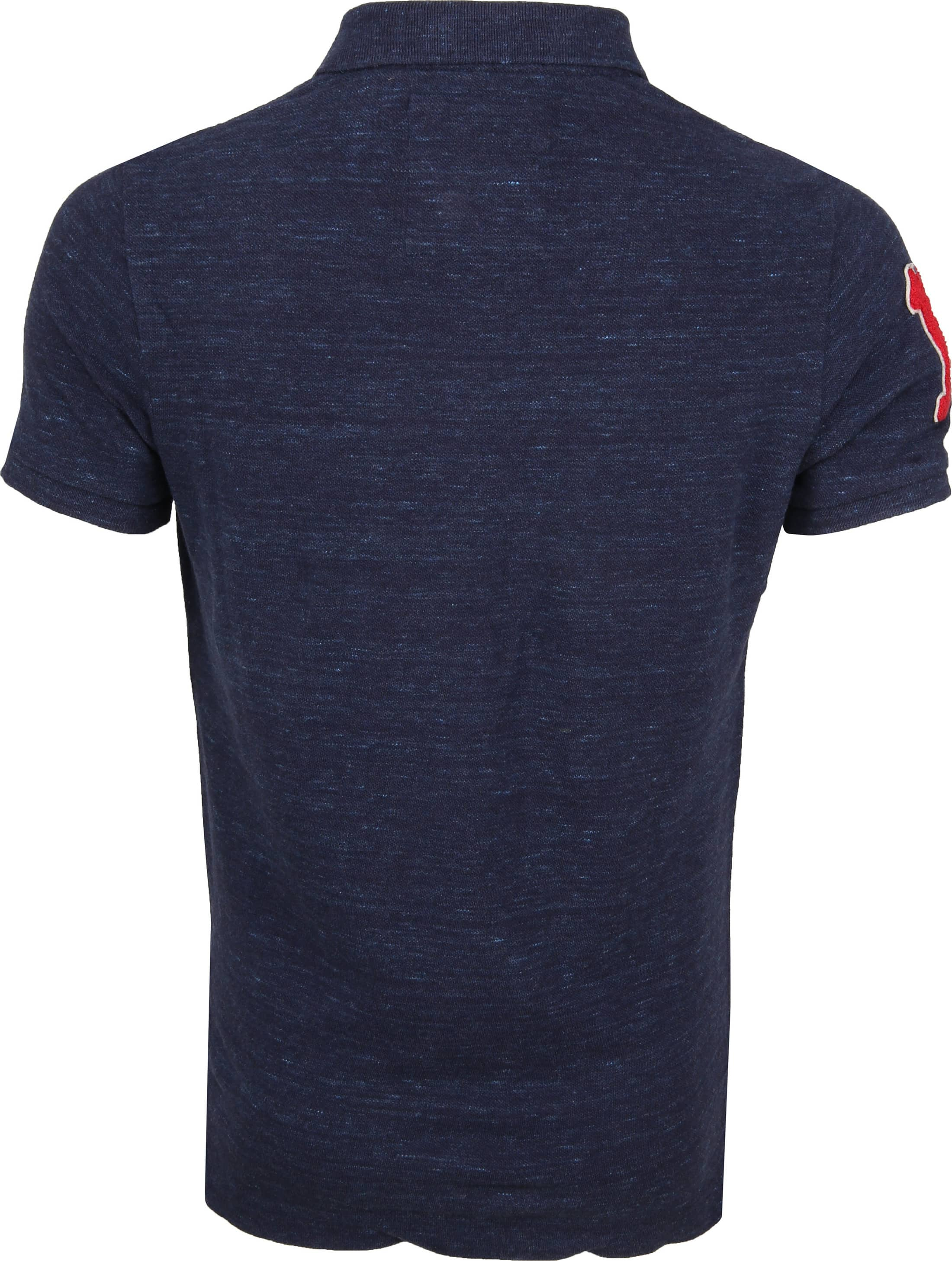 Superdry Classic Polo Navy foto 4