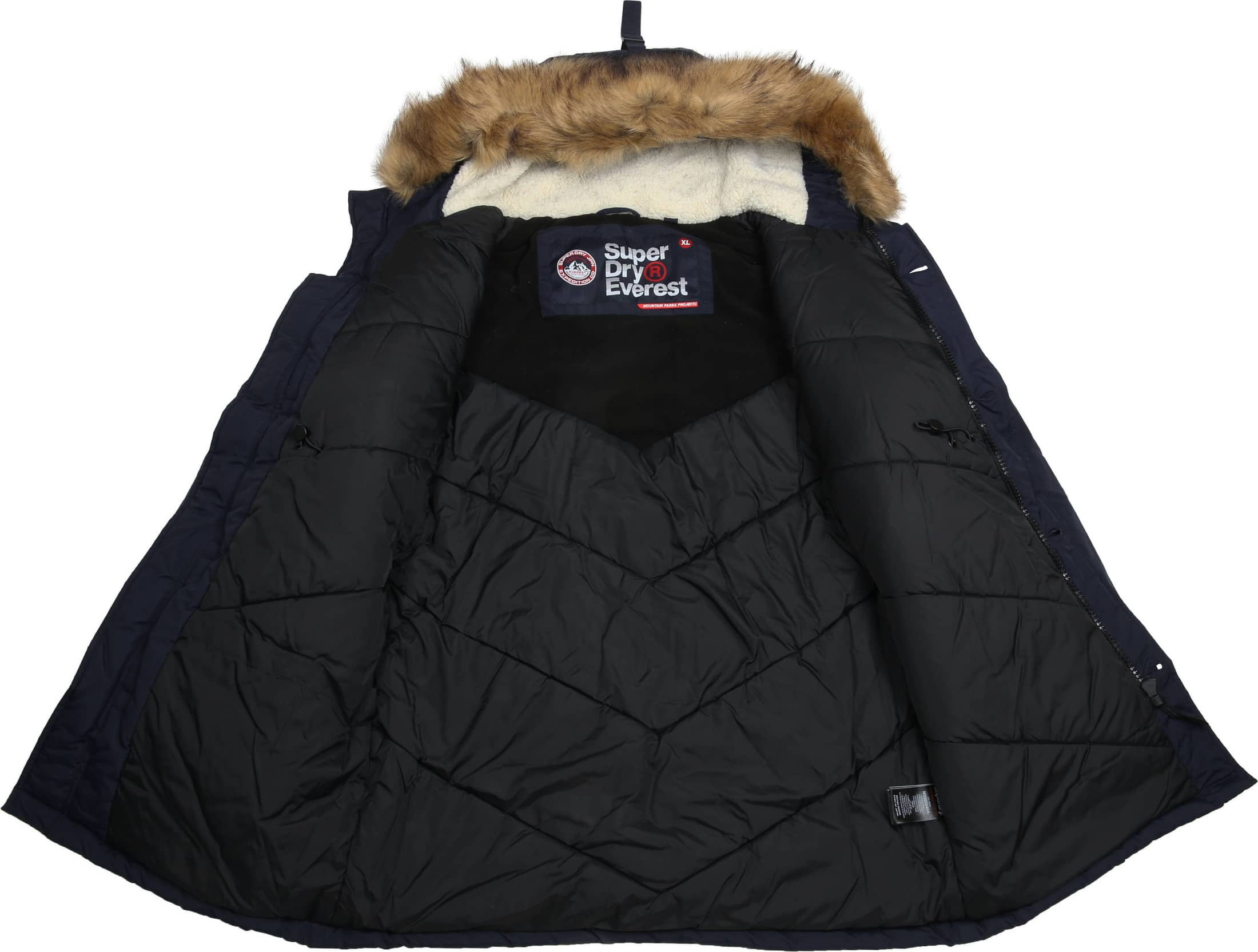Superdry Everest Parka Navy foto 6