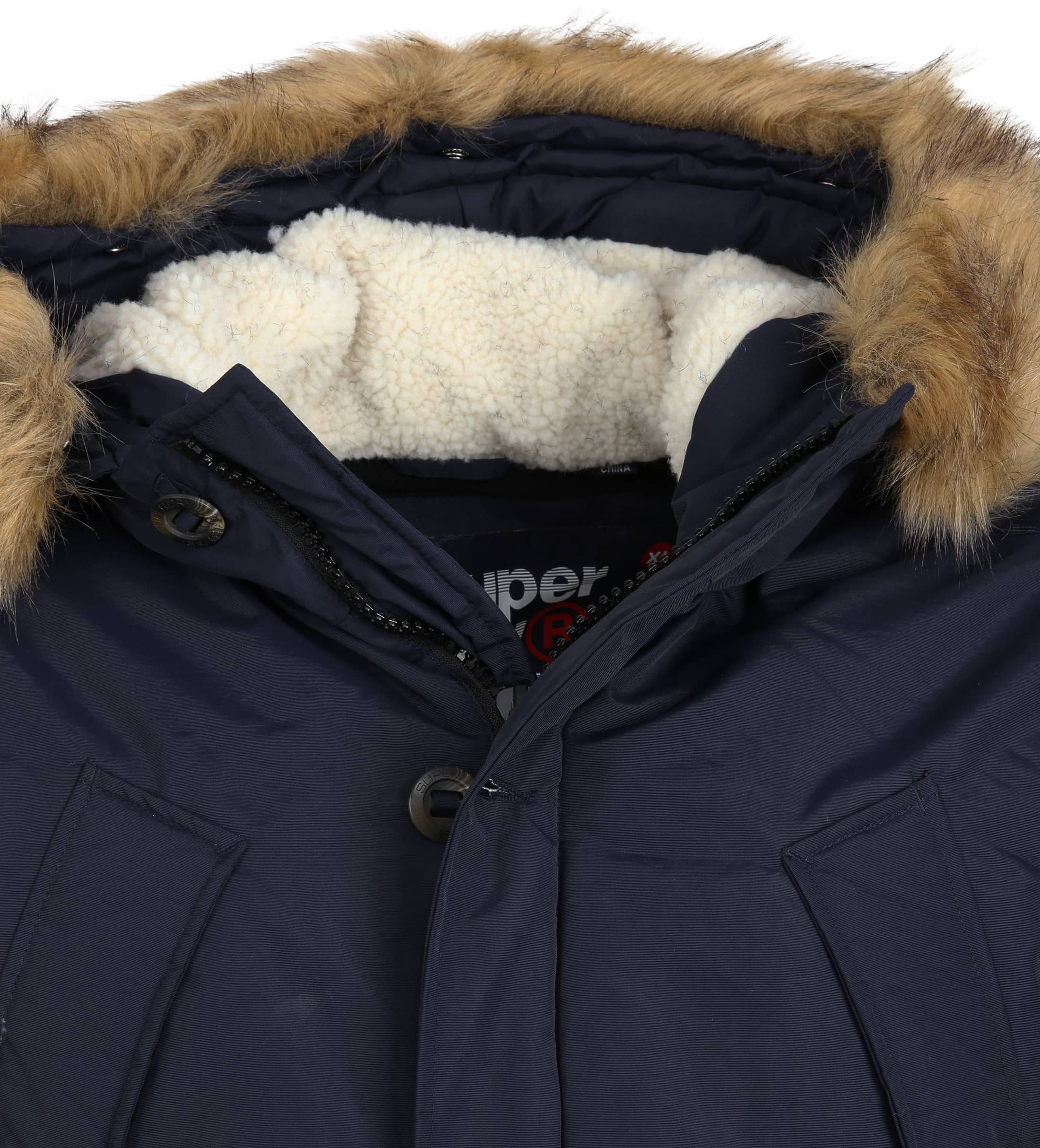 Superdry Everest Parka Navy foto 1