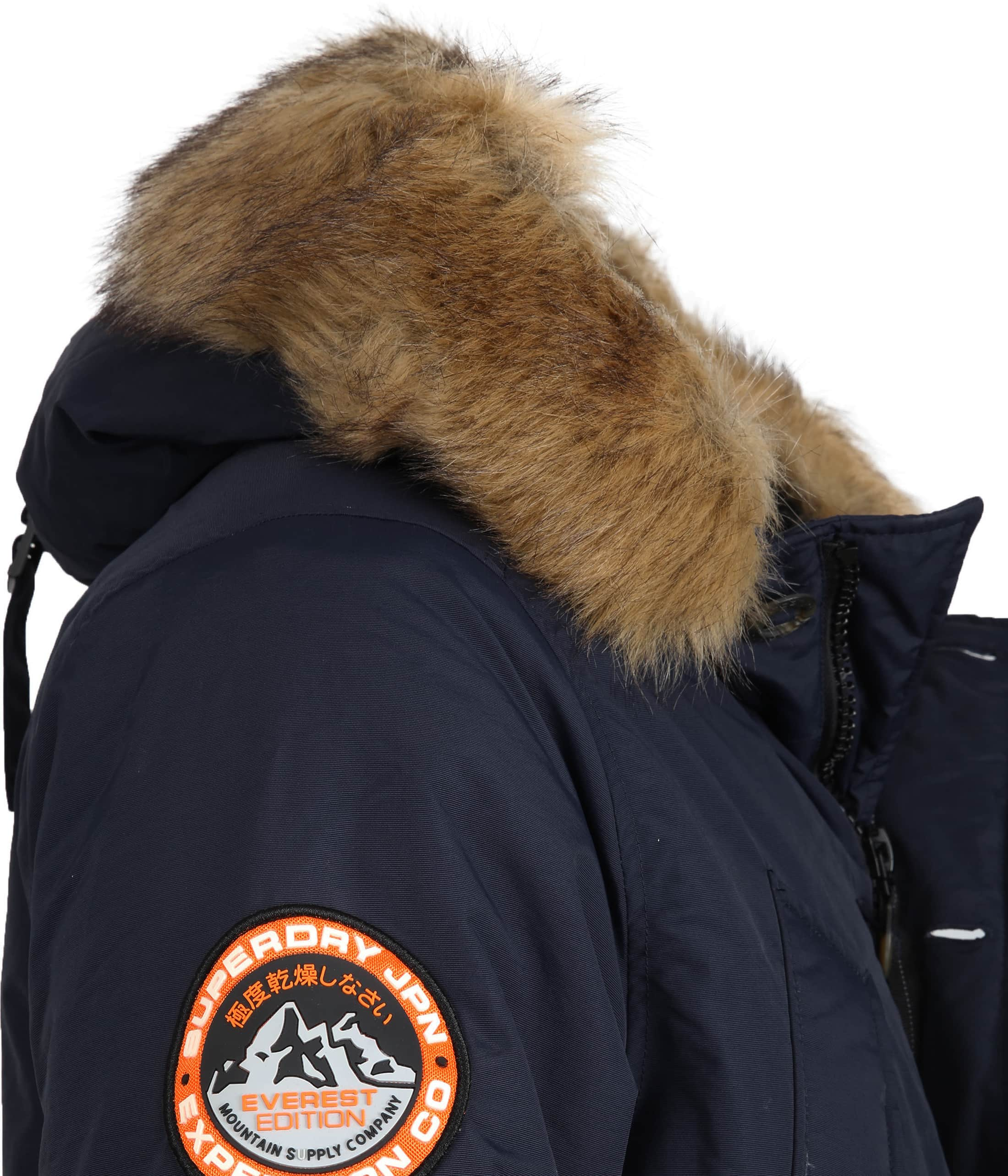 Superdry Everest Parka Navy foto 4