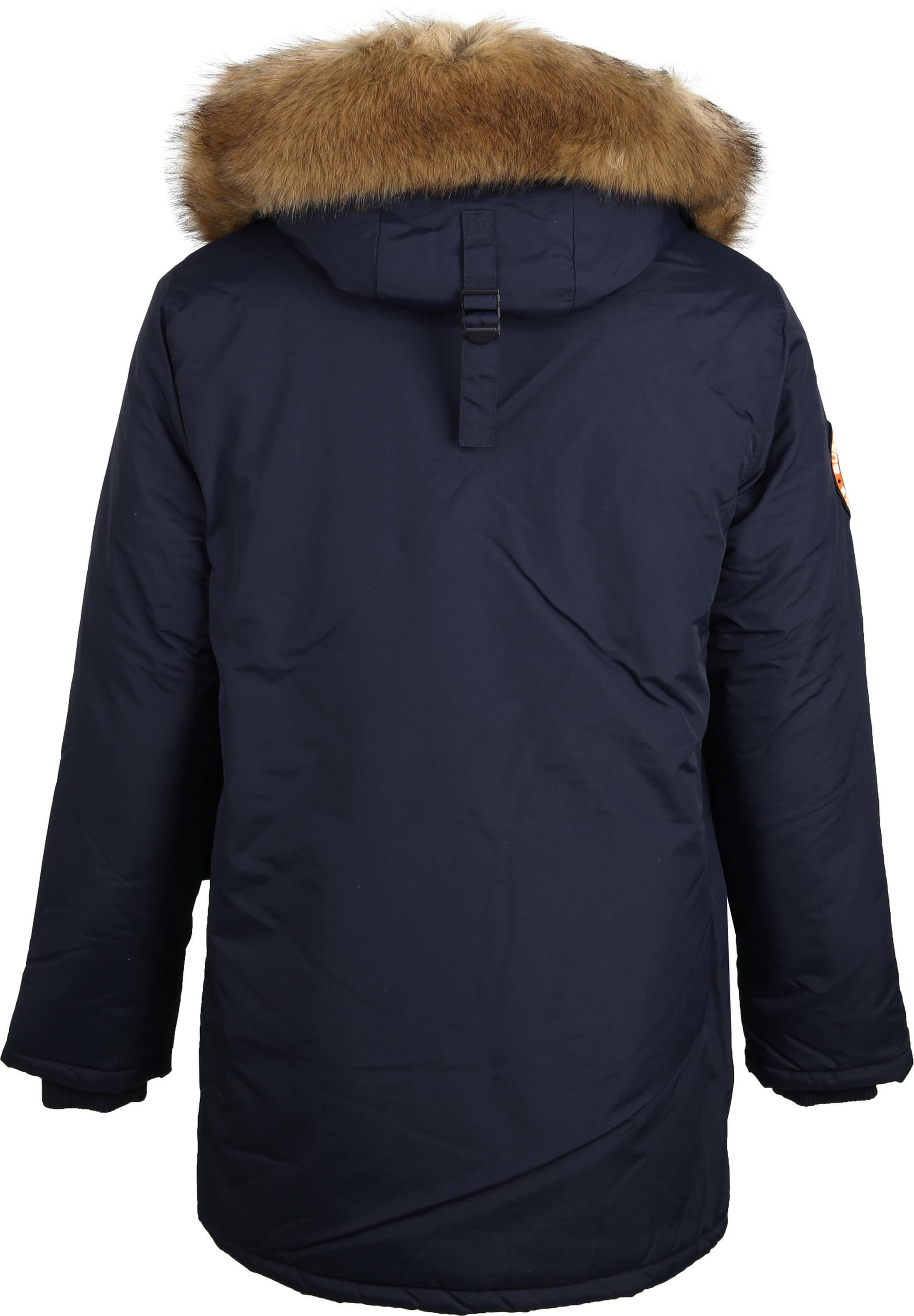 Superdry Everest Parka Navy foto 5