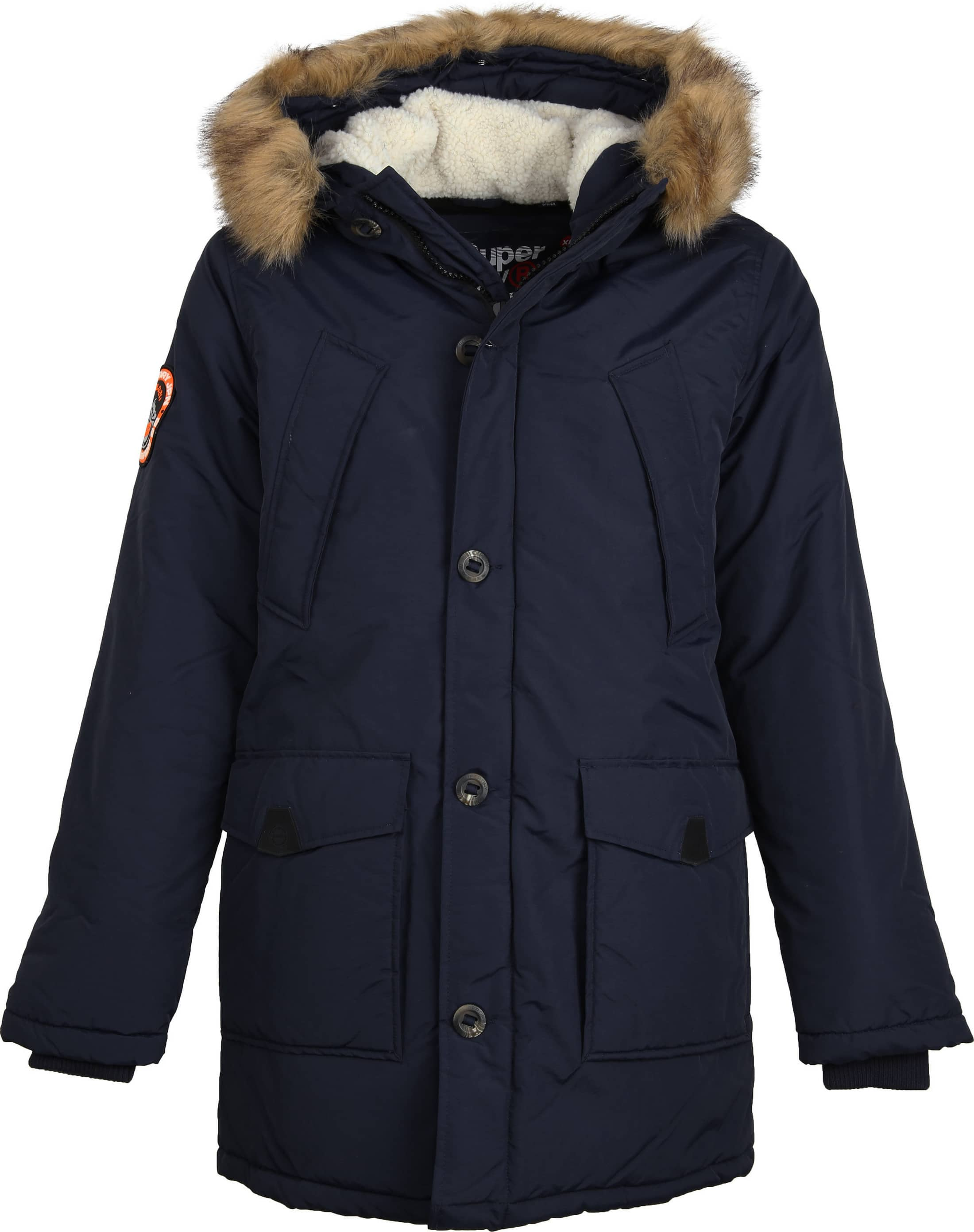 Superdry Everest Parka Navy foto 0
