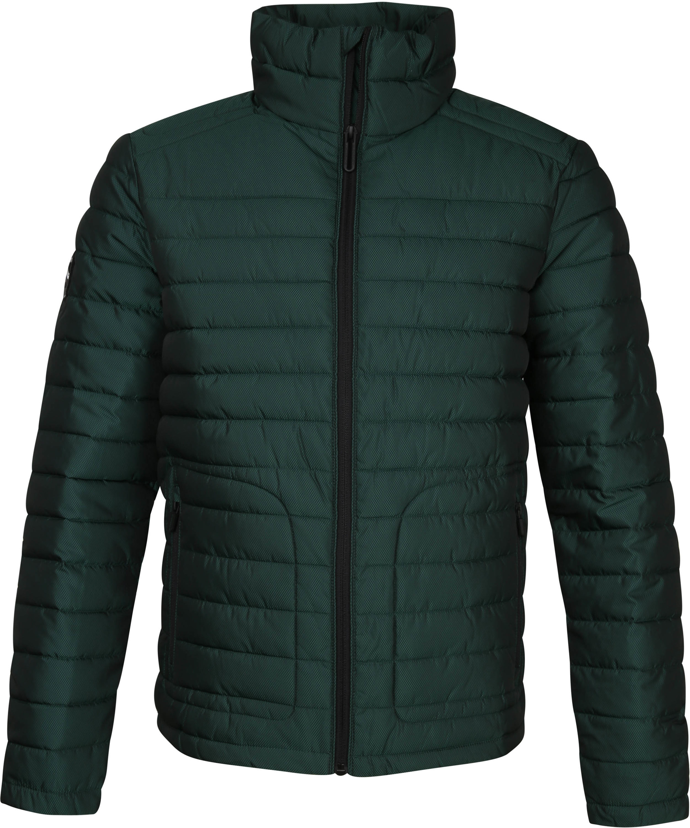 Superdry Fuji Jack Herringbone Green