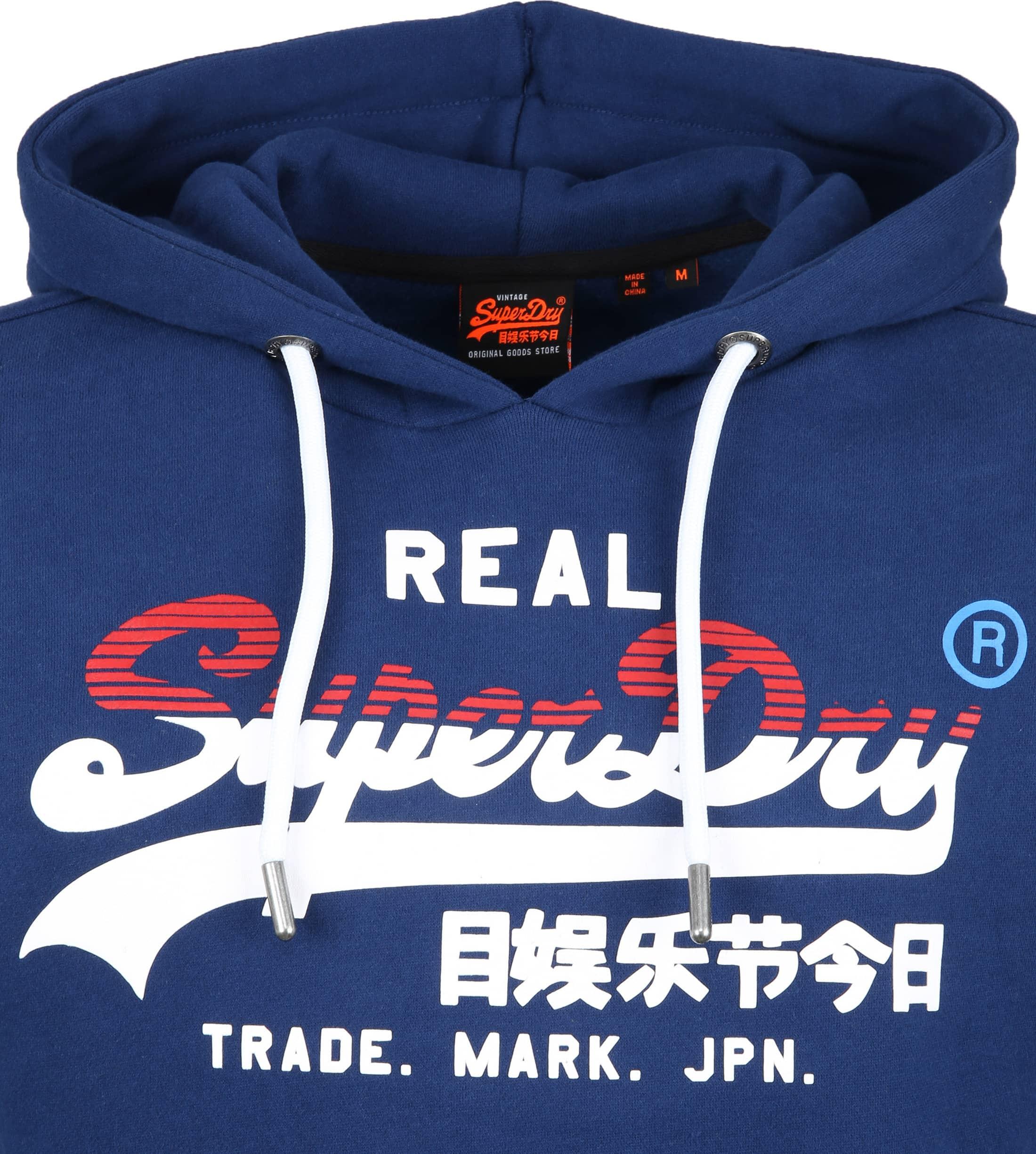 Superdry Hoodie Blau Foto 1