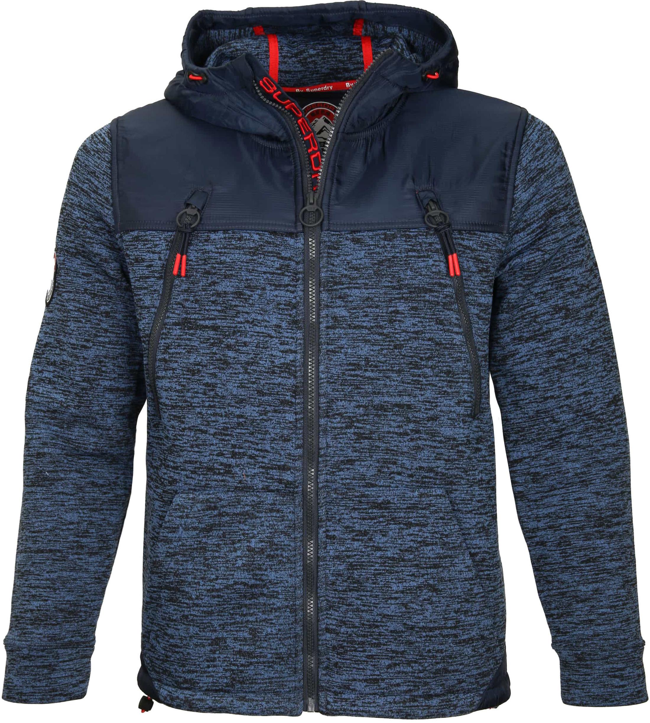 wholesale dealer a666b 995e1 Superdry Jacke Dunkelblau M2001MR online kaufen | Suitable
